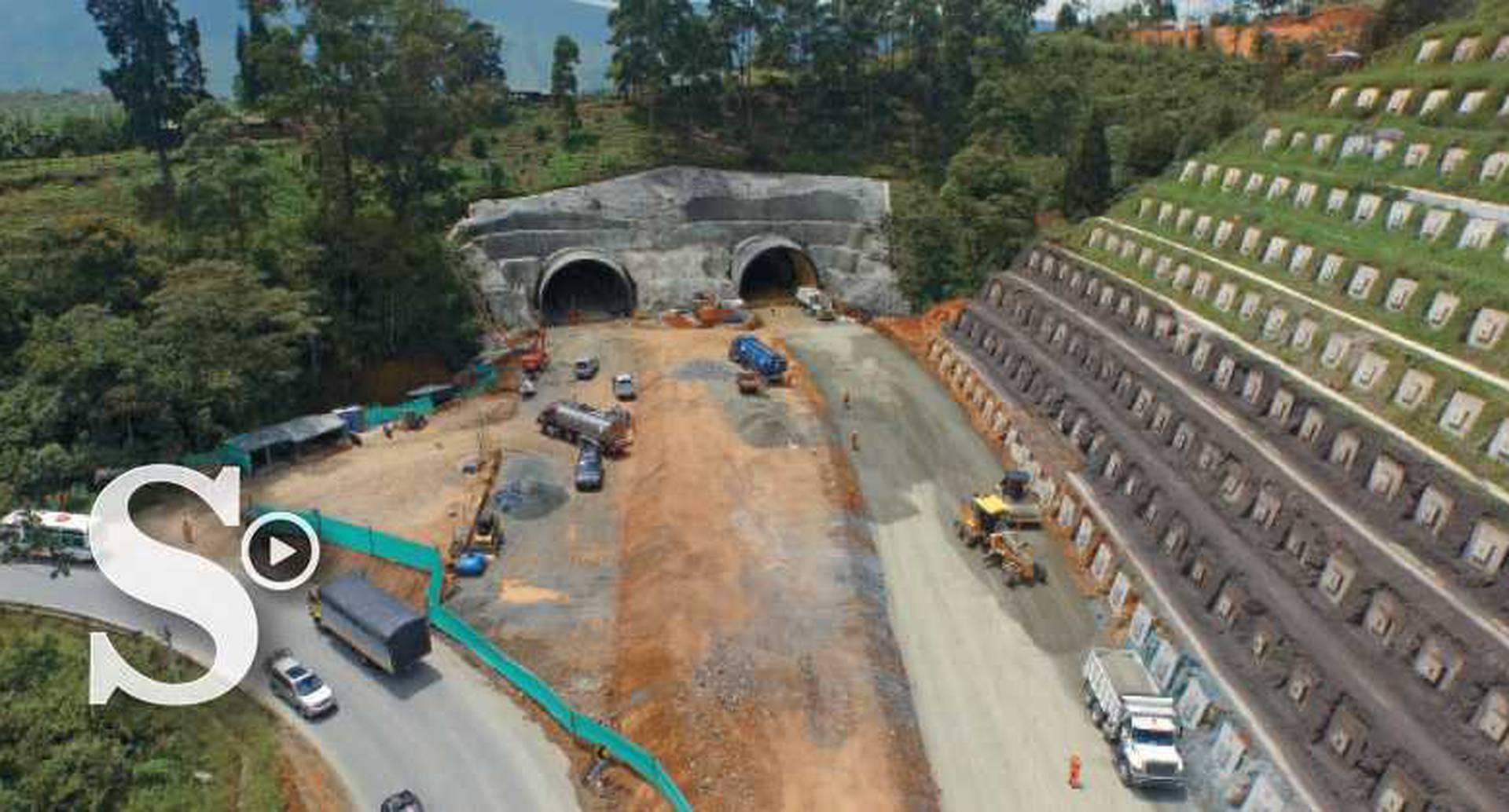 A la altura de Camilo C se construyen dos de los túneles tipo suelo más largos del país con 100 y 123 metros.
