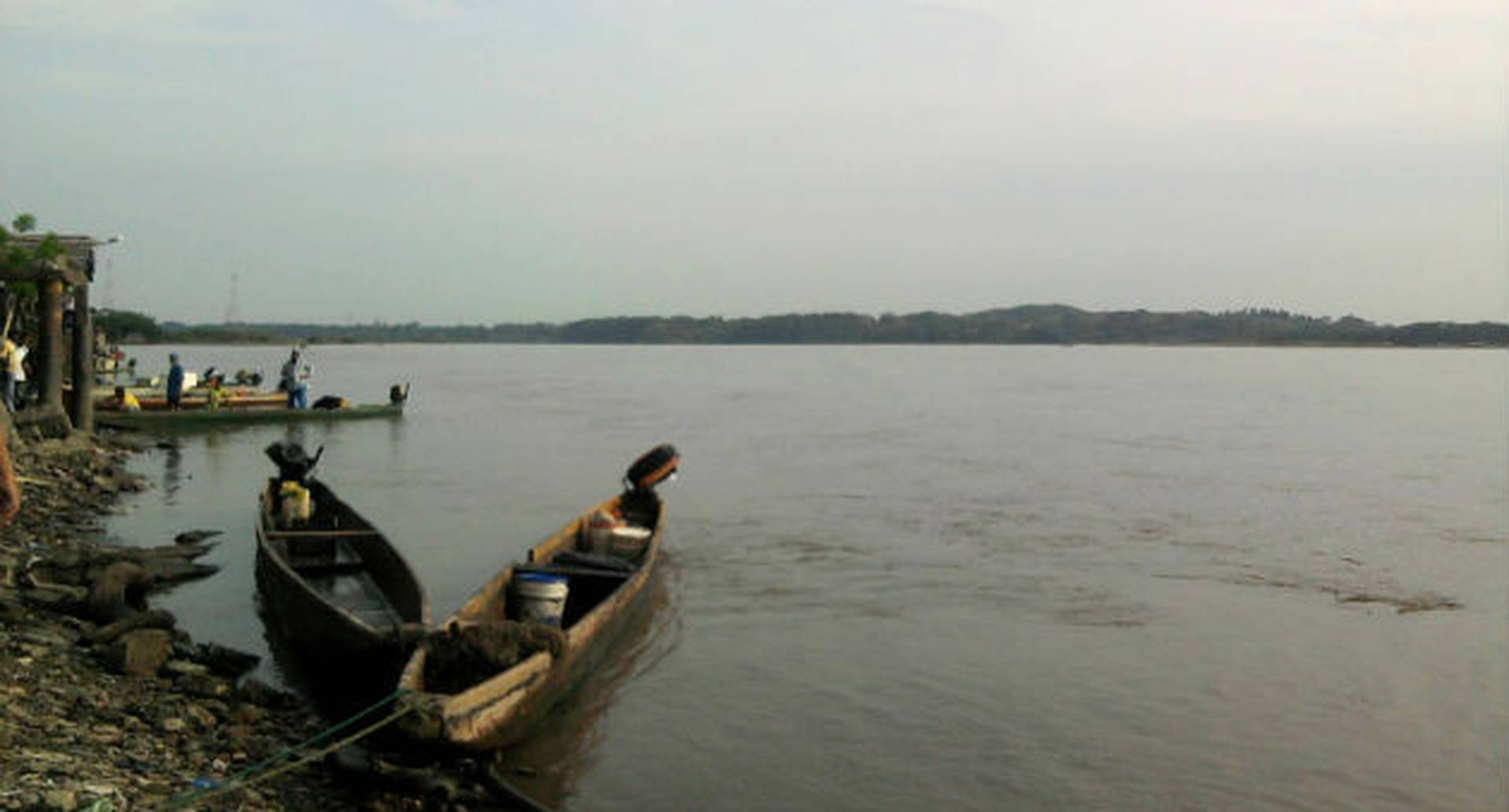 Poco a poco el nivel del río Magdalena se viene reduciendo por cuenta de la sequía. Foto: archivo/Semana.