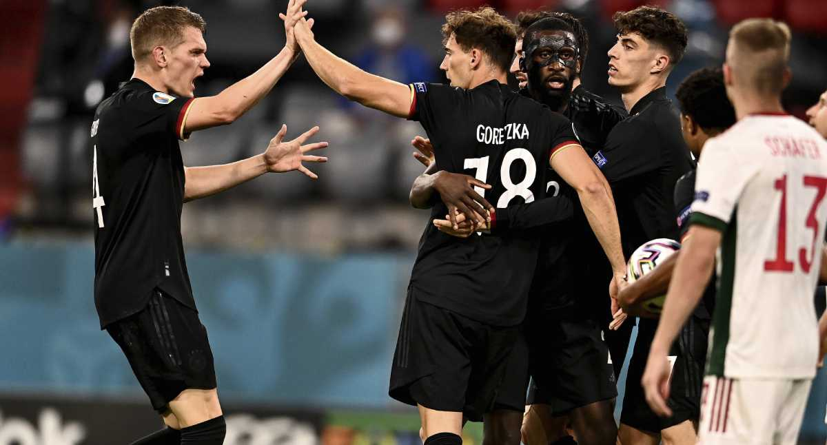 ¡Ojo! Así quedaron los cruces de octavos de final en la Eurocopa 2021