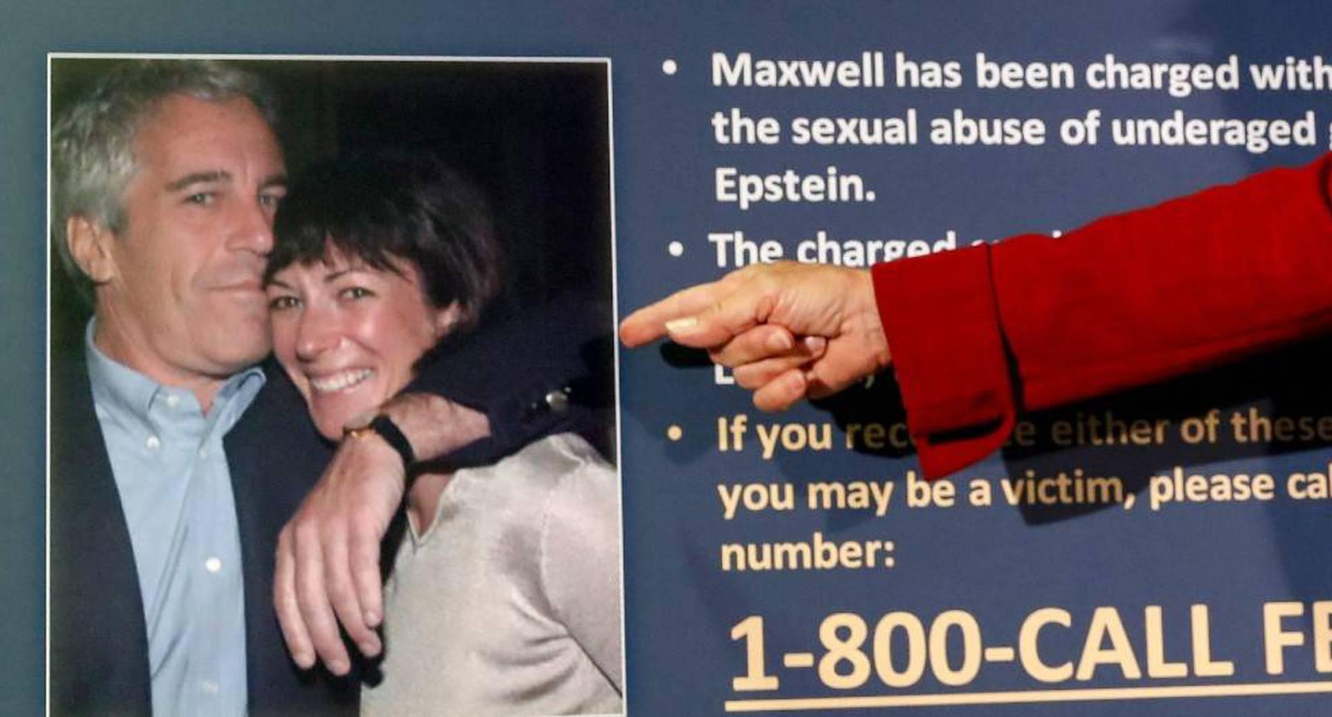 Jeffrey Epstein y Ghislaine Maxwell fueron pareja y luego muy buenos amigos.