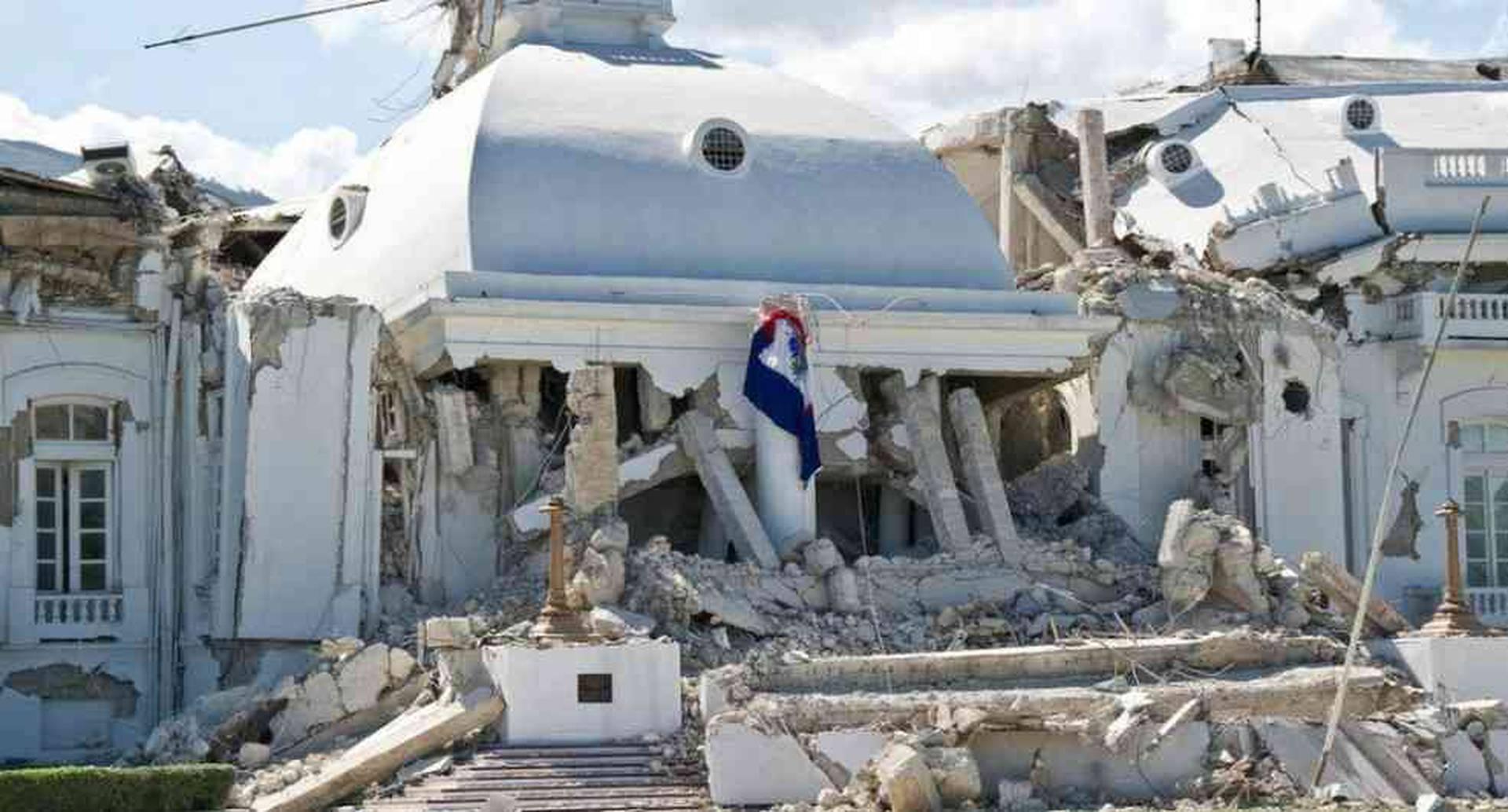 El Palacio Nacional de Puerto Príncipe todavía no fue reconstruido. Foto: Getty Images/ BBC