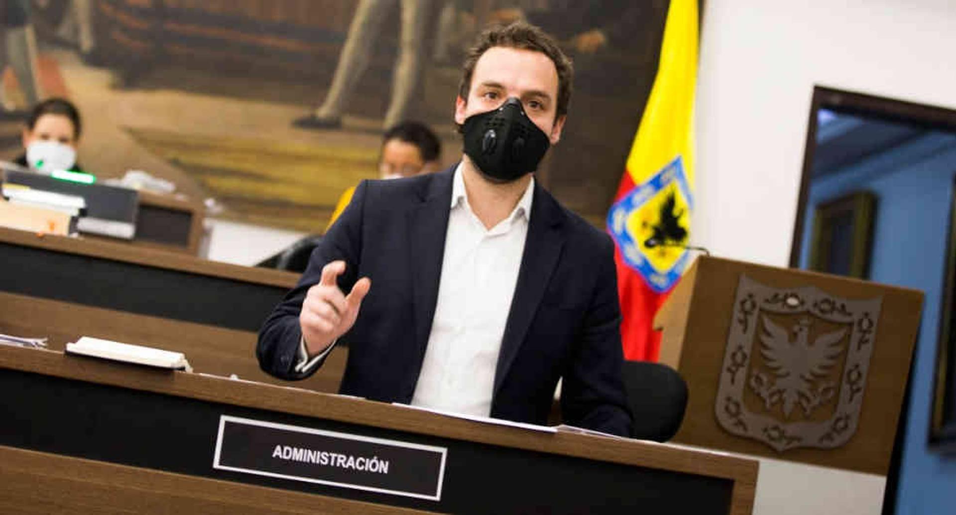 Luis Ernesto Gómez, secretario de Gobierno de Bogotá.