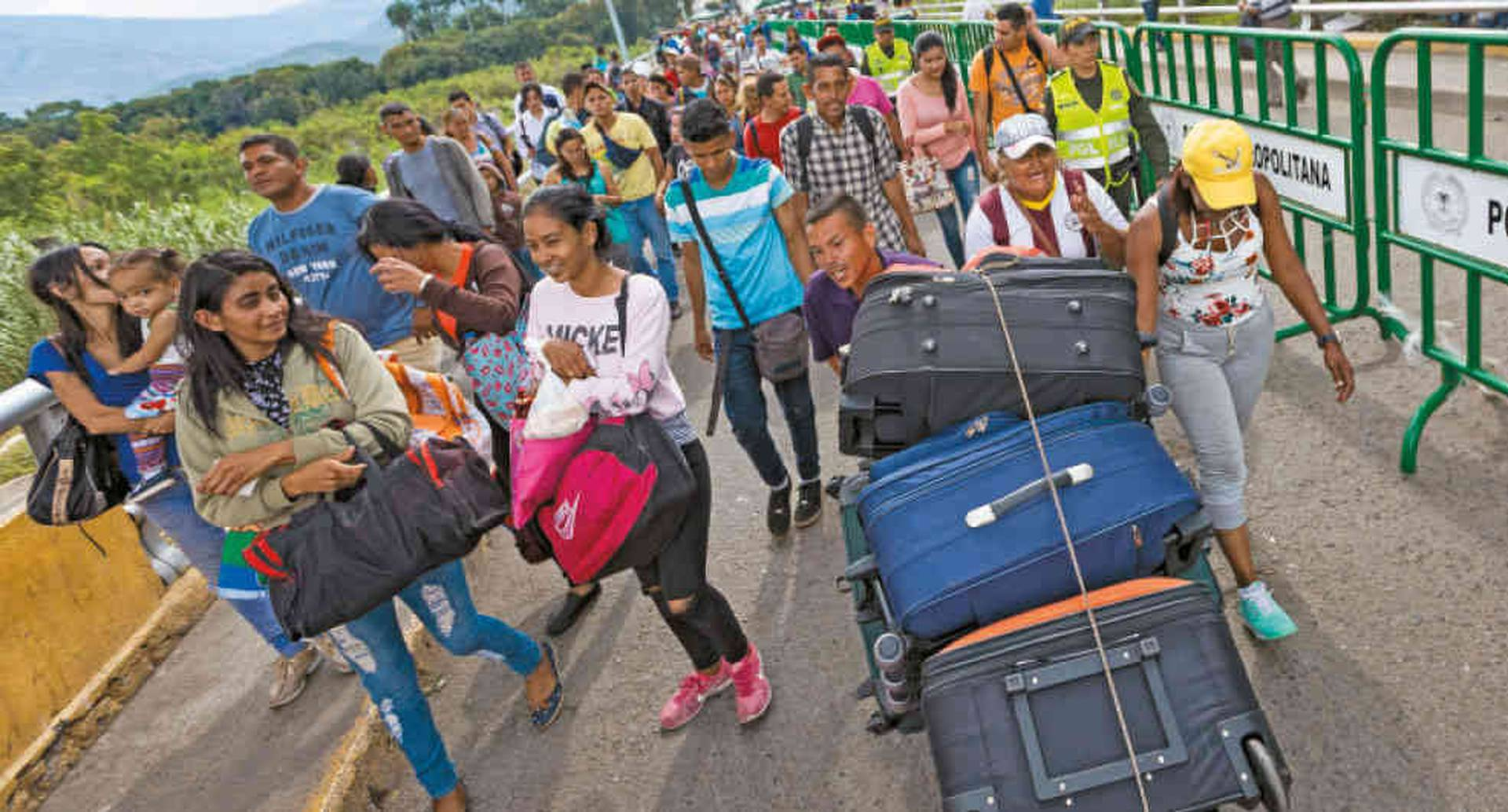 La ONU estima que 5 millones de venezolanos abandonarán el país el próximo año.