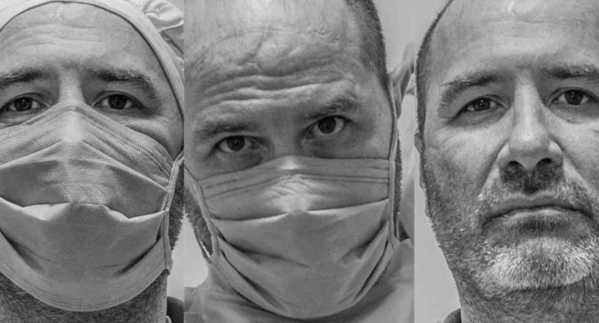 Carlos Prado, médico intensivista de Cali. Fotos: Daniel Jaramillo / especial para SEMANA