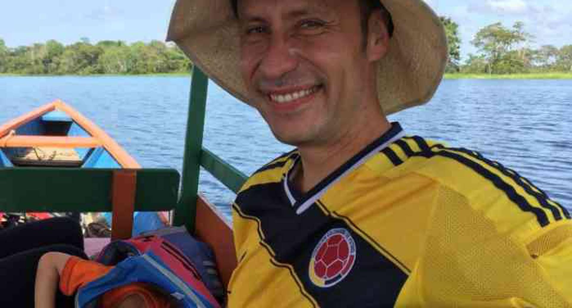 Felipe Caycedo Soler, físico colombiano hallado sin vida en Alpes alemanes.