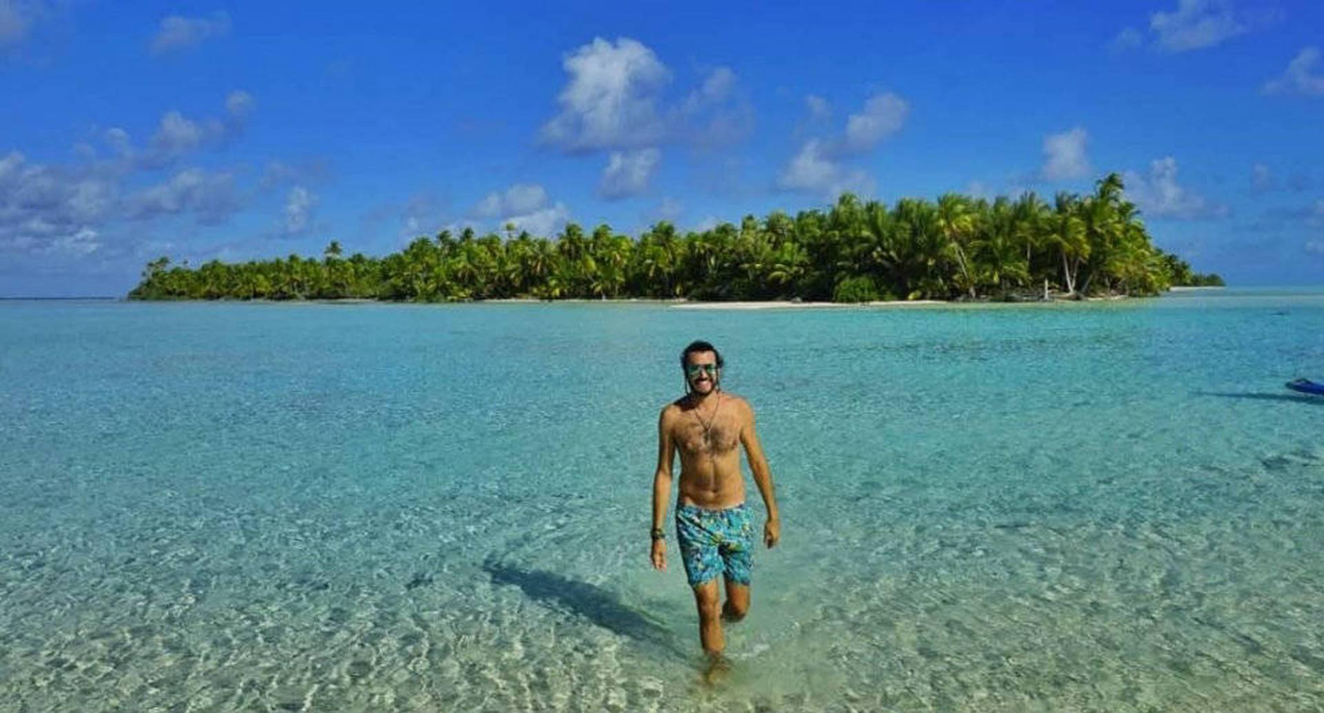 Christian Byfield en Tahiti.