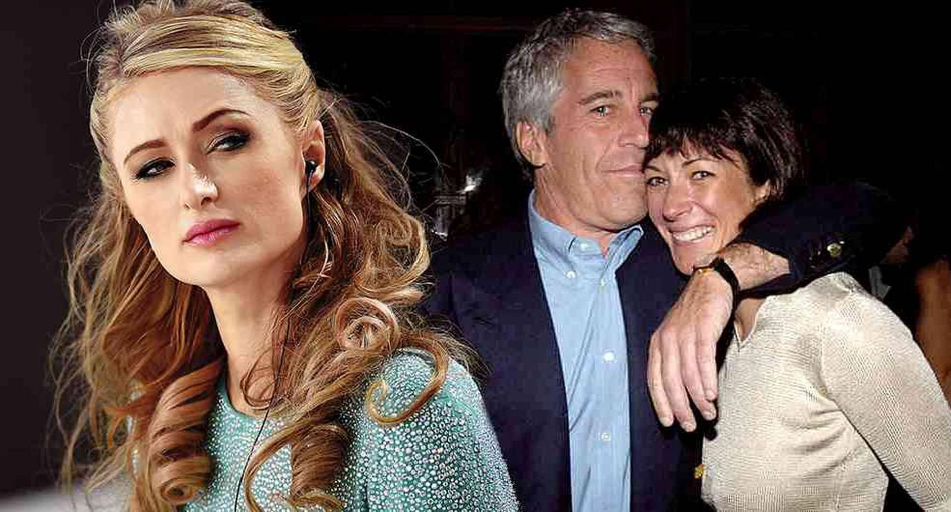 Ghislaine Maxwell se habría encontrado en una fiesta con Paris Hilton a finales de 2000.