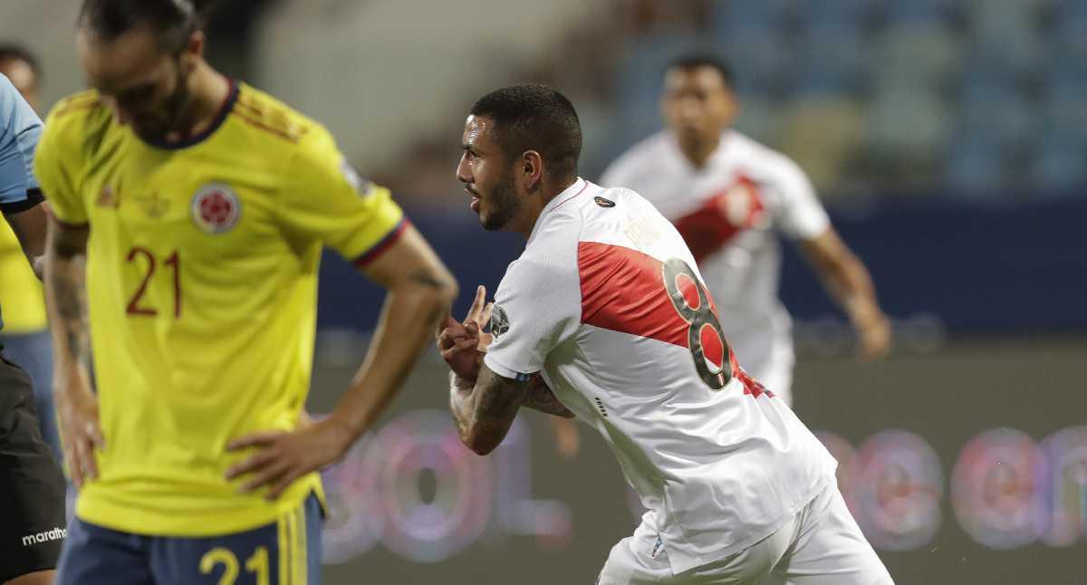 ? EN VIVO | Colombia vs. Perú, minuto a minuto | Perú toma ventaja en el juego 2-1 tras autogol de Mina