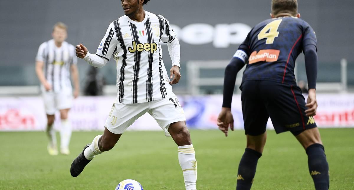 ¡Cuadrado, estelar! Con dos asistencias fue figura de la Juventus y superó a Zidane