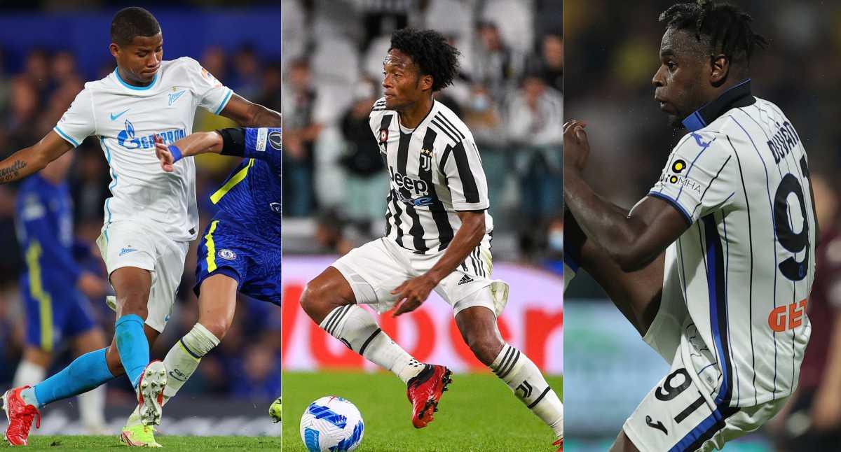 La agenda de los colombianos en la Champions League para este miércoles 29 de septiembre