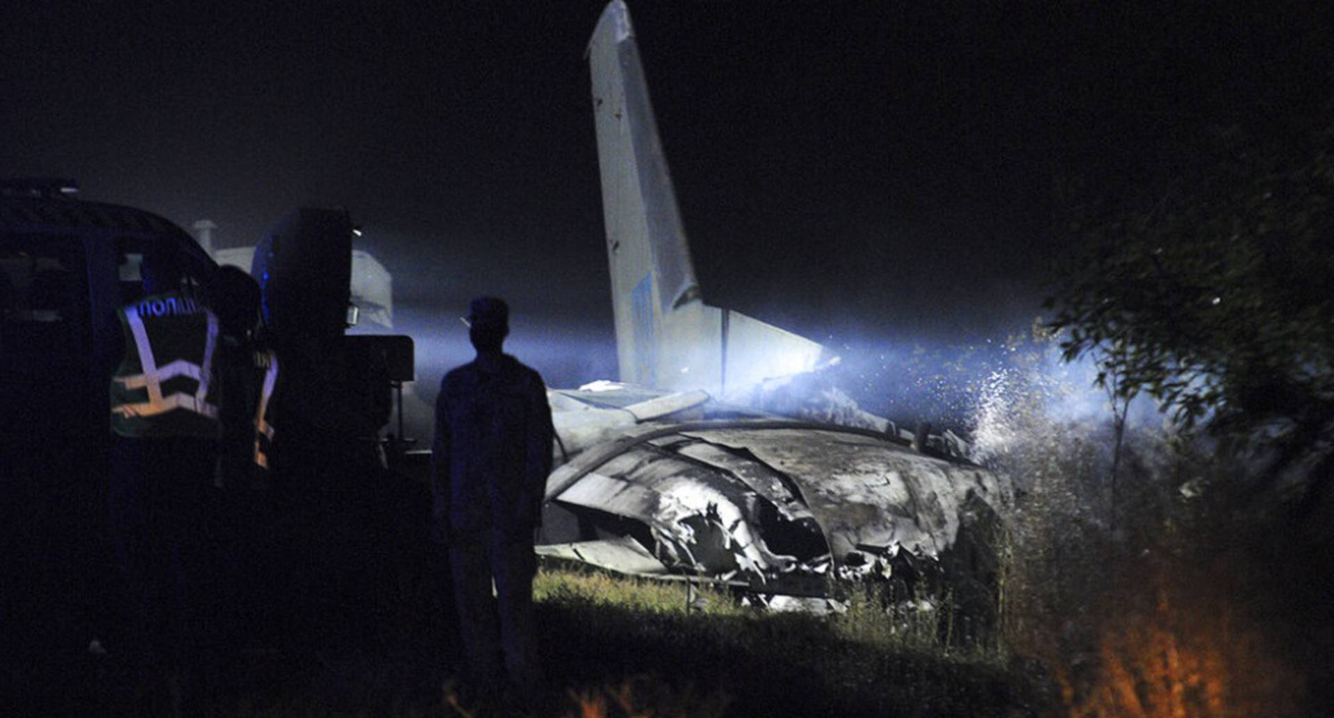 Ucrania: avión militar se estrelló y 22 personas murieron. (AP Photo)