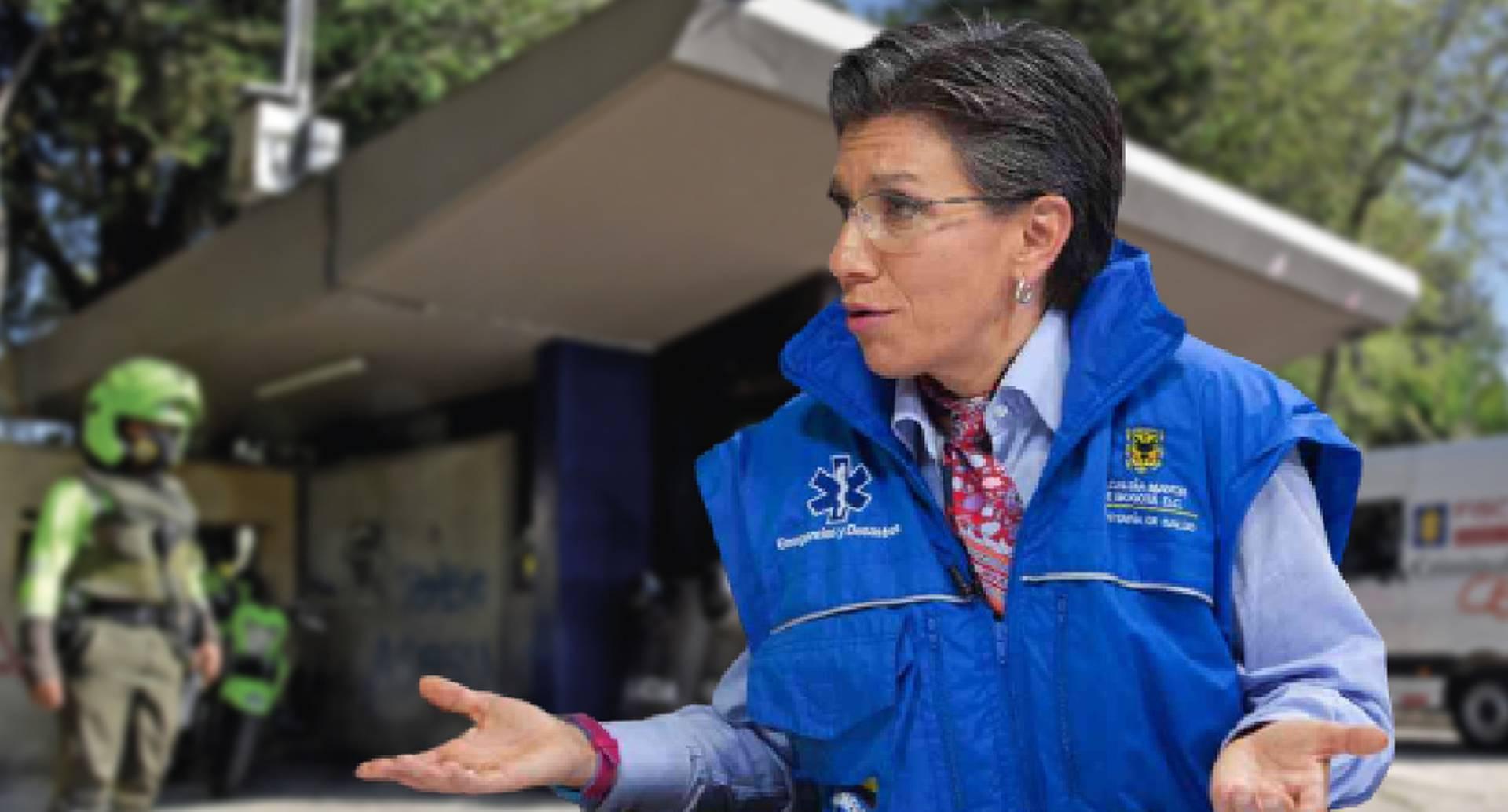 ¿La alcaldesa Claudia López perdió el control de la Policía?