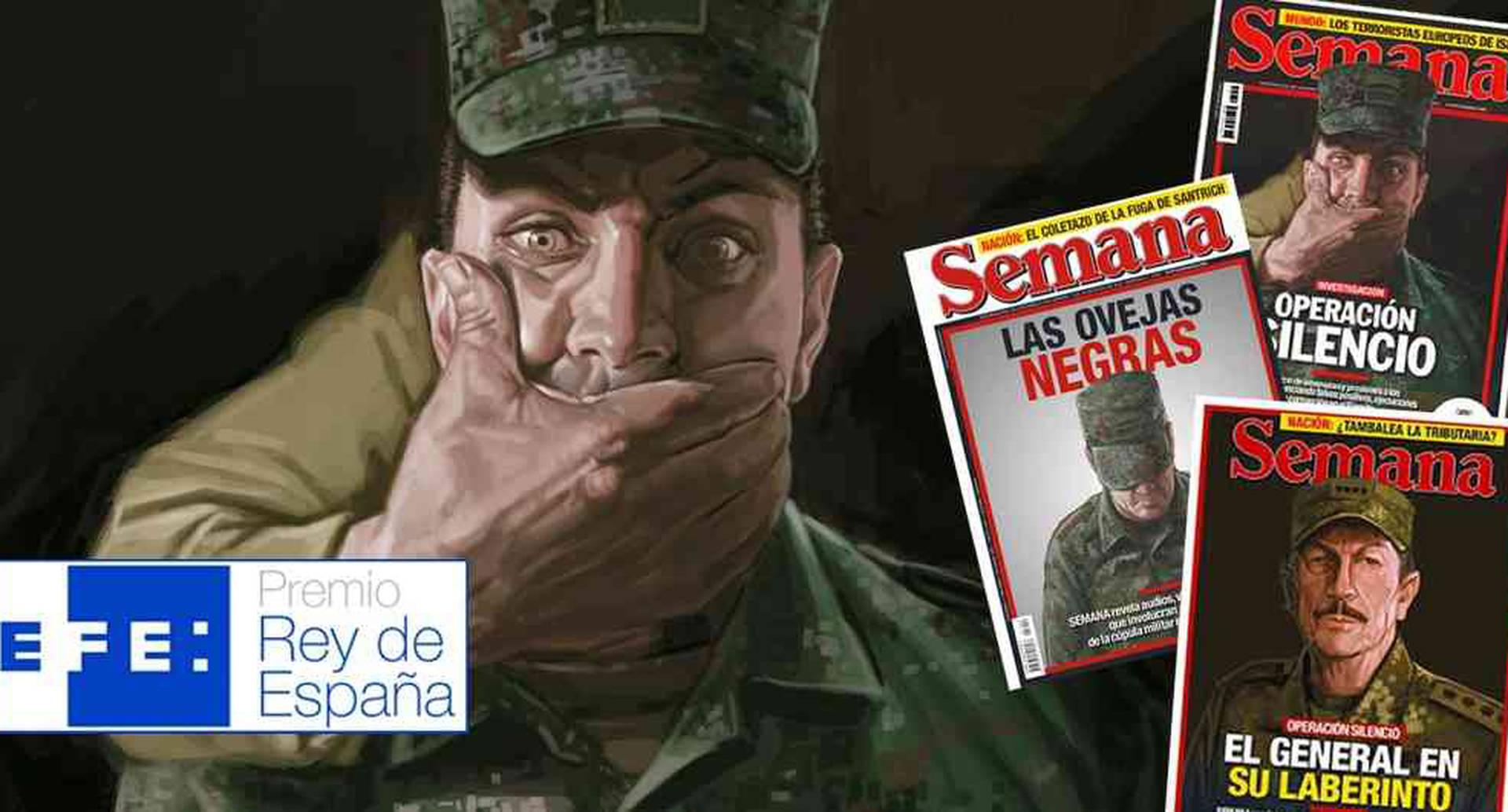 El ganador en la categoría Premio Iberoamericano fue Ricardo Calderón, director de investigaciones de la Revista SEMANA.