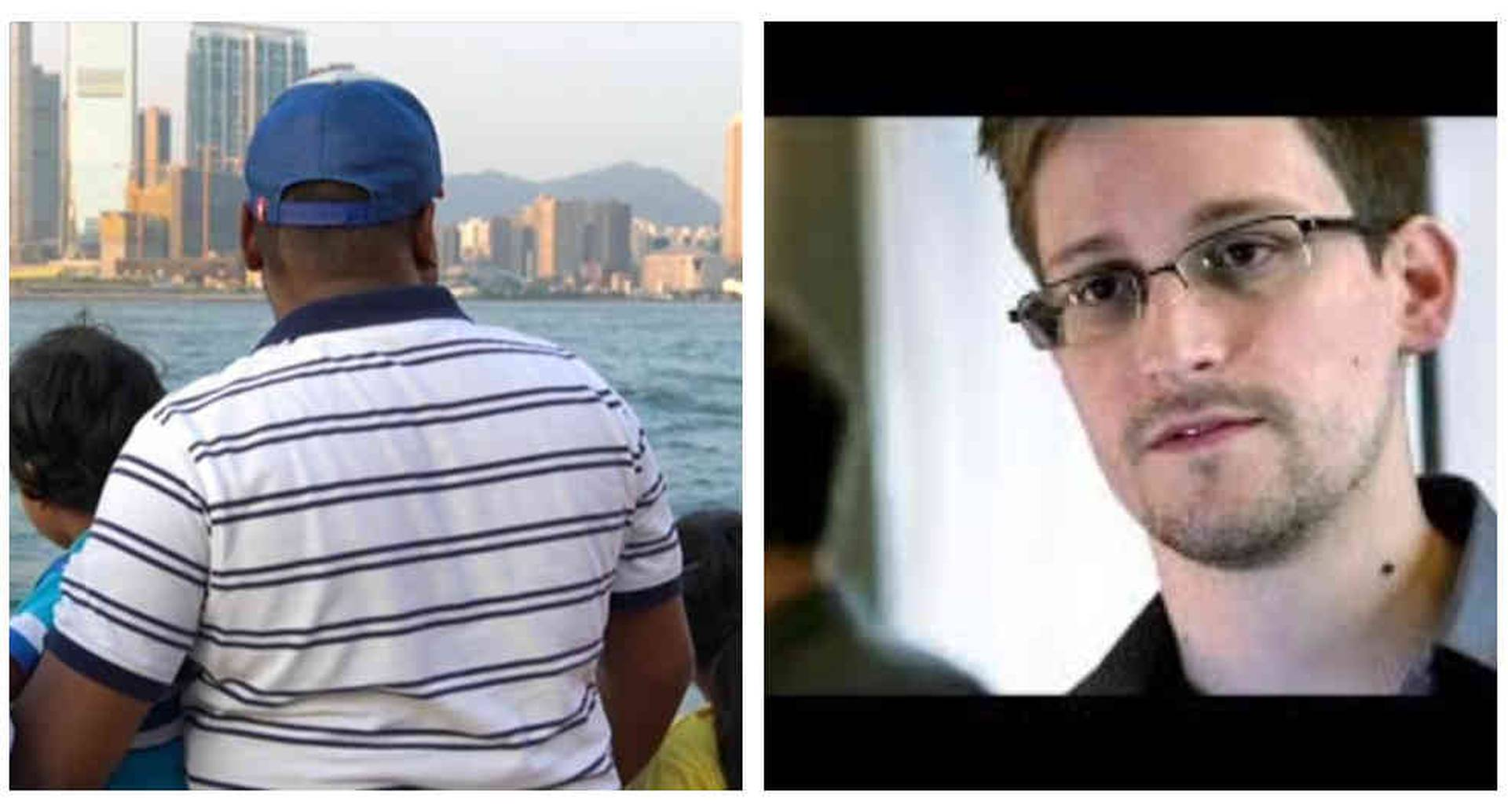 Los refugiados que refugiaron Edward Snowden.
