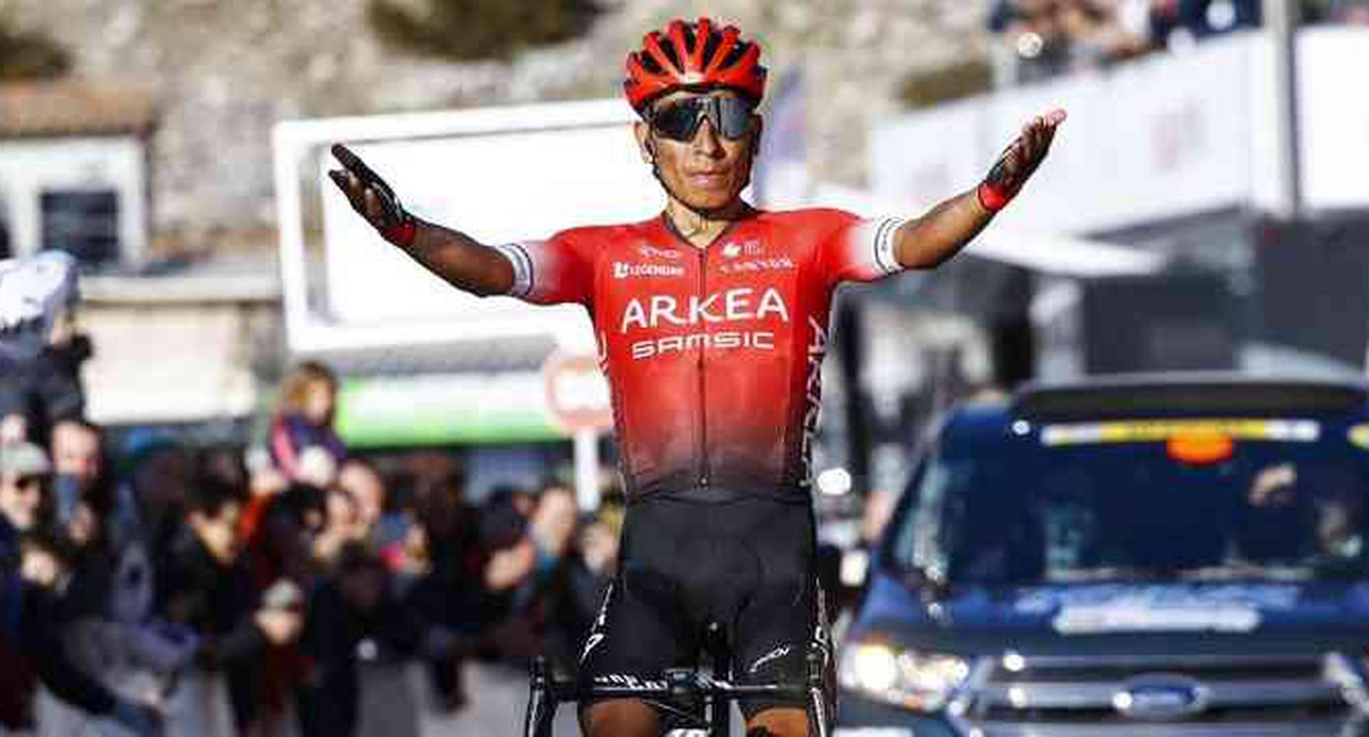 Nairo Quintana y la sorpresa con que lo recibió Arkea en Europa | Colombia hoy