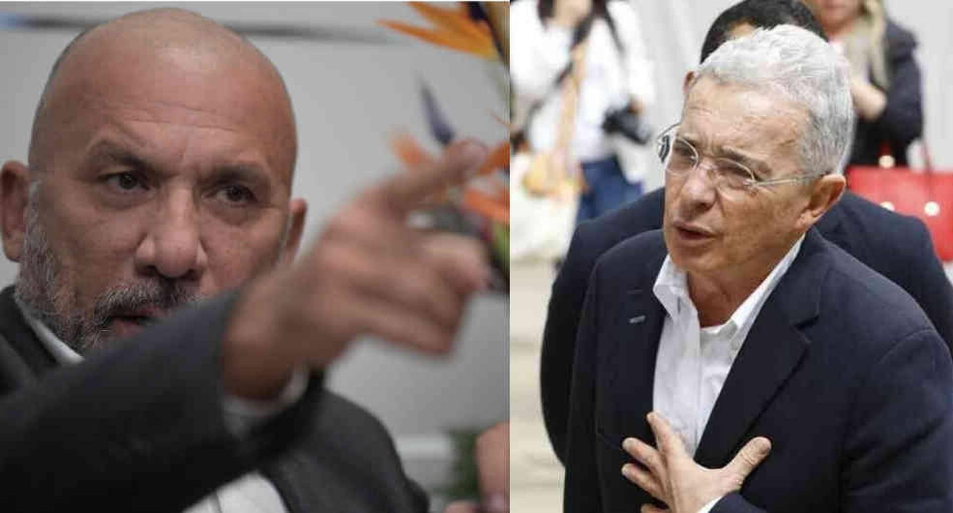 Álvaro Uribe y Roy Barreras: del amor al odio político. Foto: montaje SEMANA.