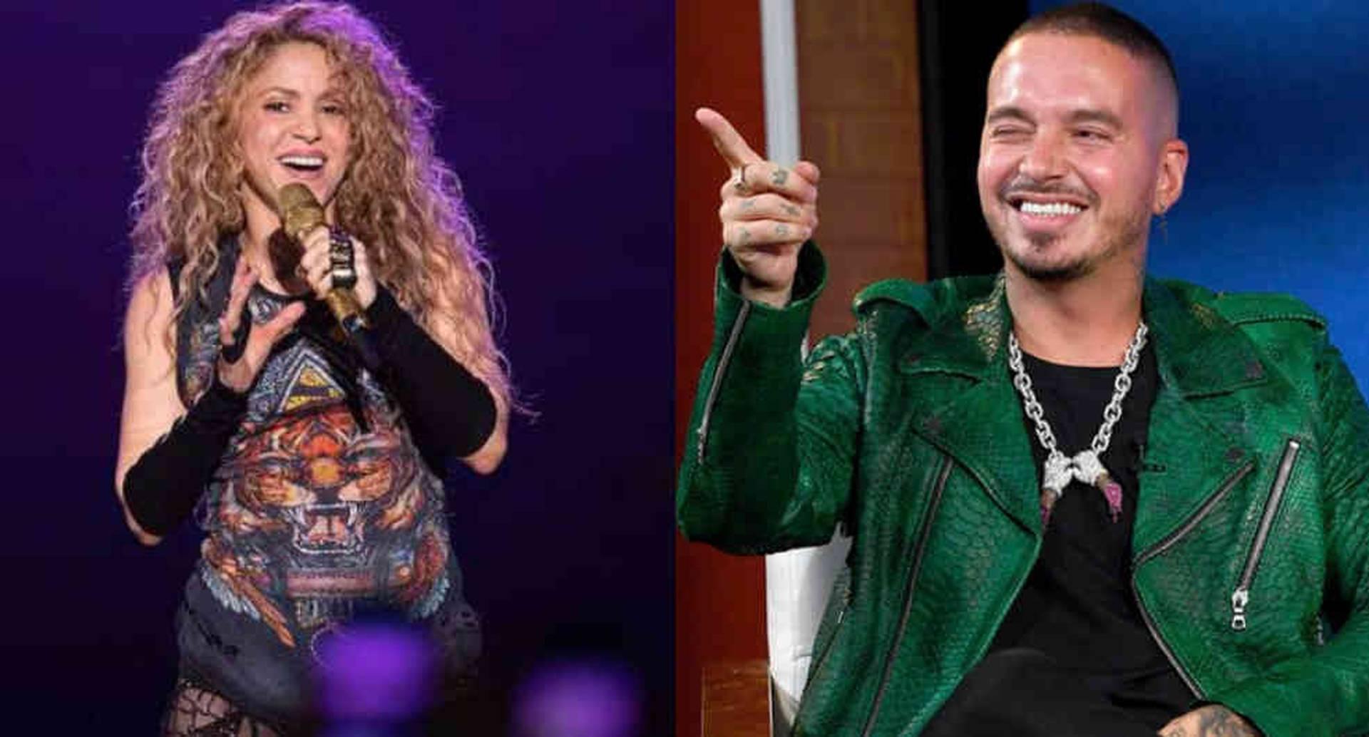 J Balvin es criticado por supuestamente burlarse de Shakira en entrevista/Fotos: AFP