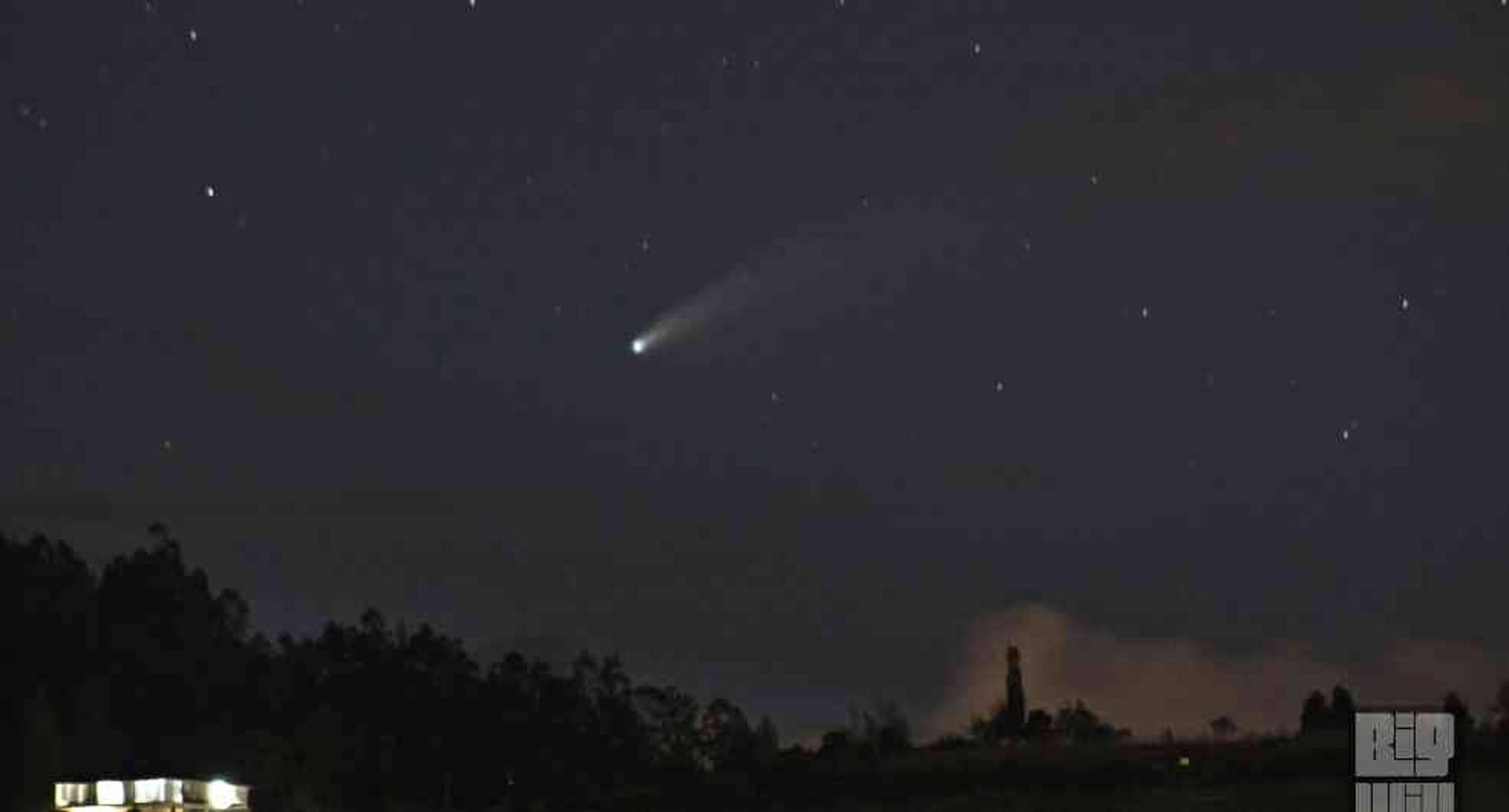 Toma del cometa Neowise en Sibaté.