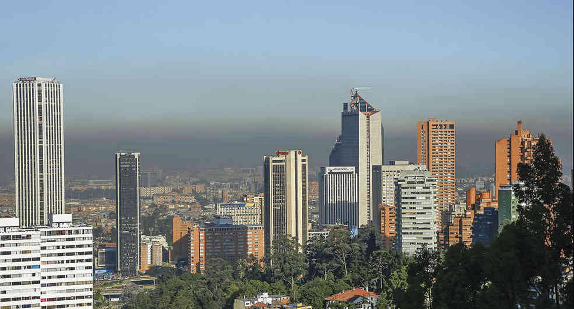 En alerta amarilla por mala calidad del aire continúan ciudades como Bogotá y Medellín. Foto: archivo particular.