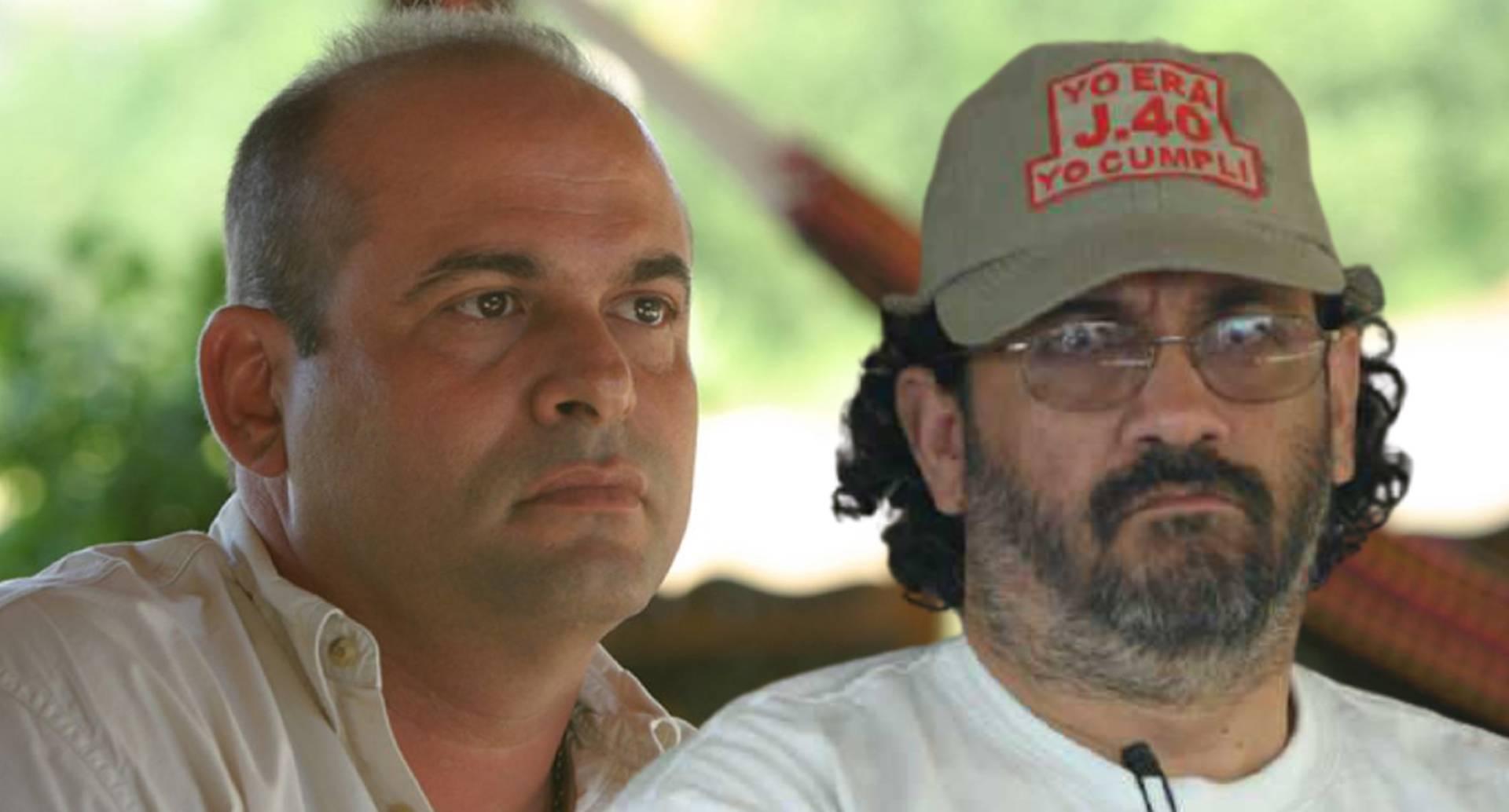 Exjefes paramilitares Salvatore Mancuso y Rodrigo Tovar Pupo, alias Jorge 40 / Archivo SEMANA.