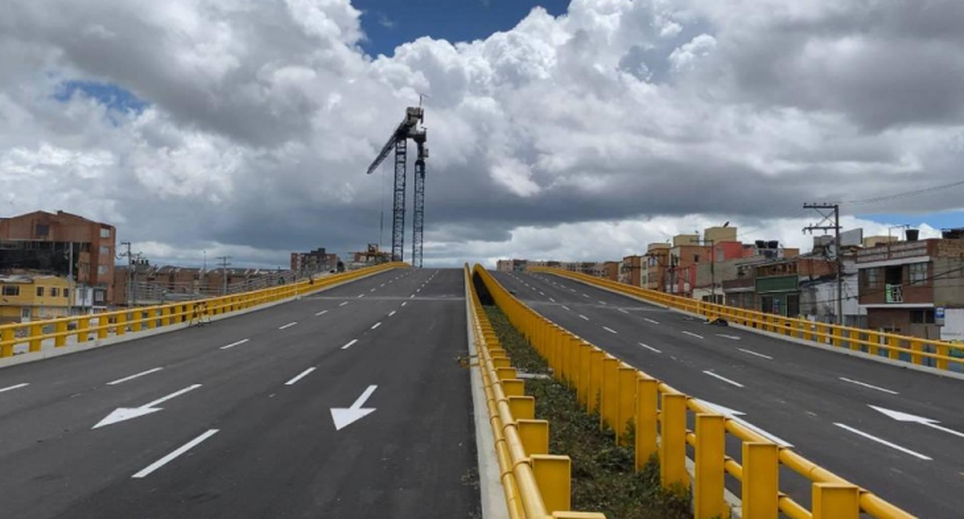Puente José Celestino Mutis, ubicado en la calle 63 con avenida Boyacá / Foto: Instituto de Desarrollo Urbano (IDU)