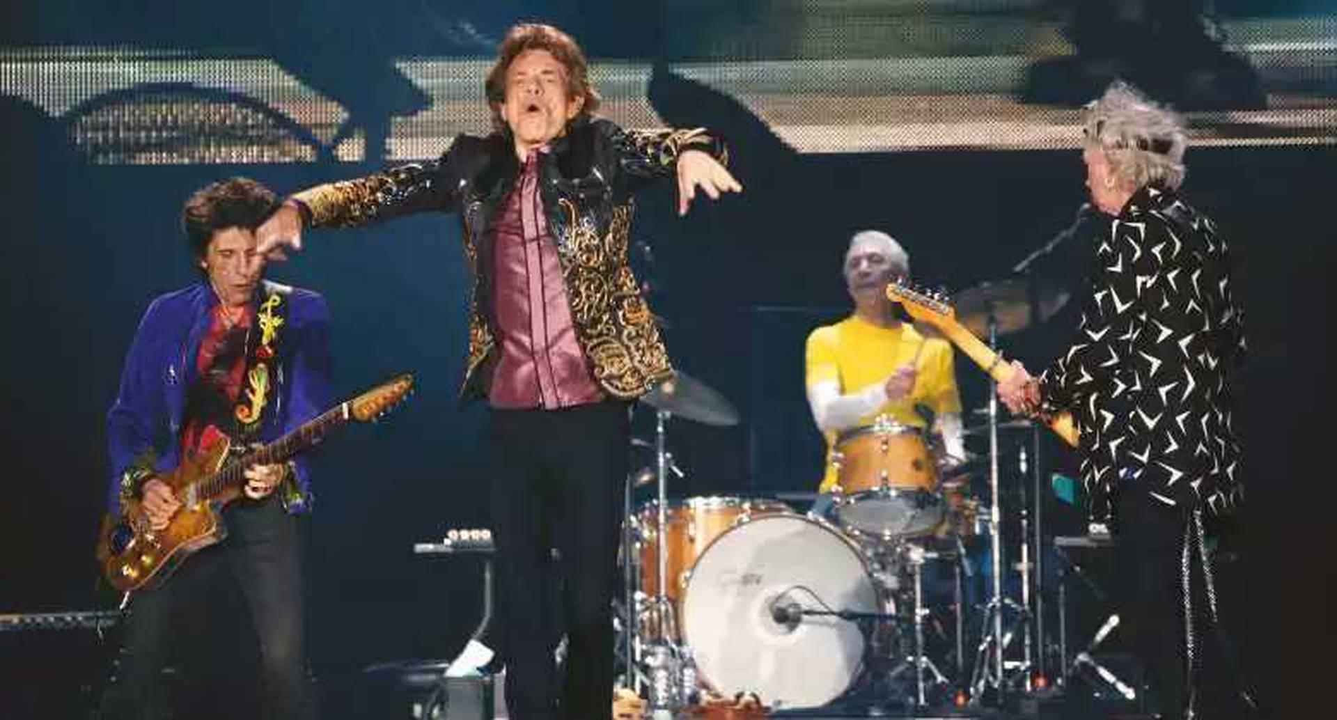 Los Rolling Stones son unos de los firmantes de la carta al Ministerio de Cultura británico.