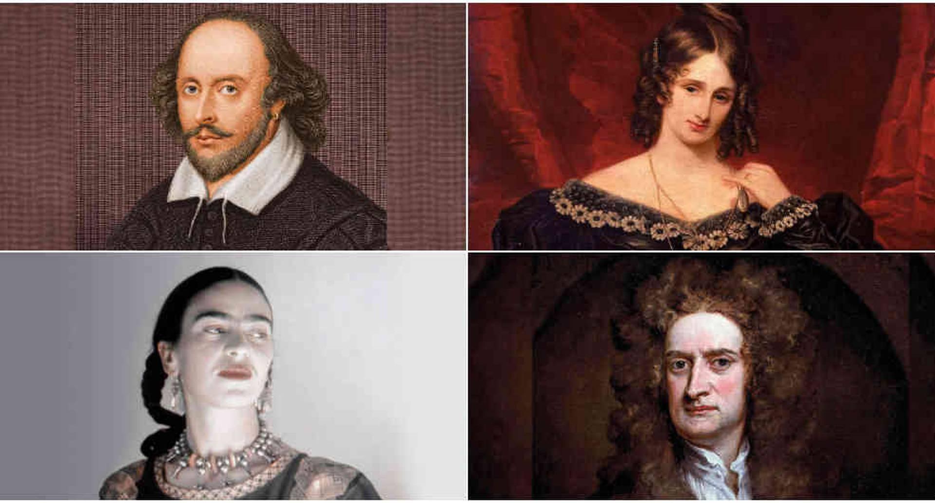 William Shakespeare, Mary Shelley, Frida Khalo e Isaac Newton entre los genios que aprovecharon la cuarentena,