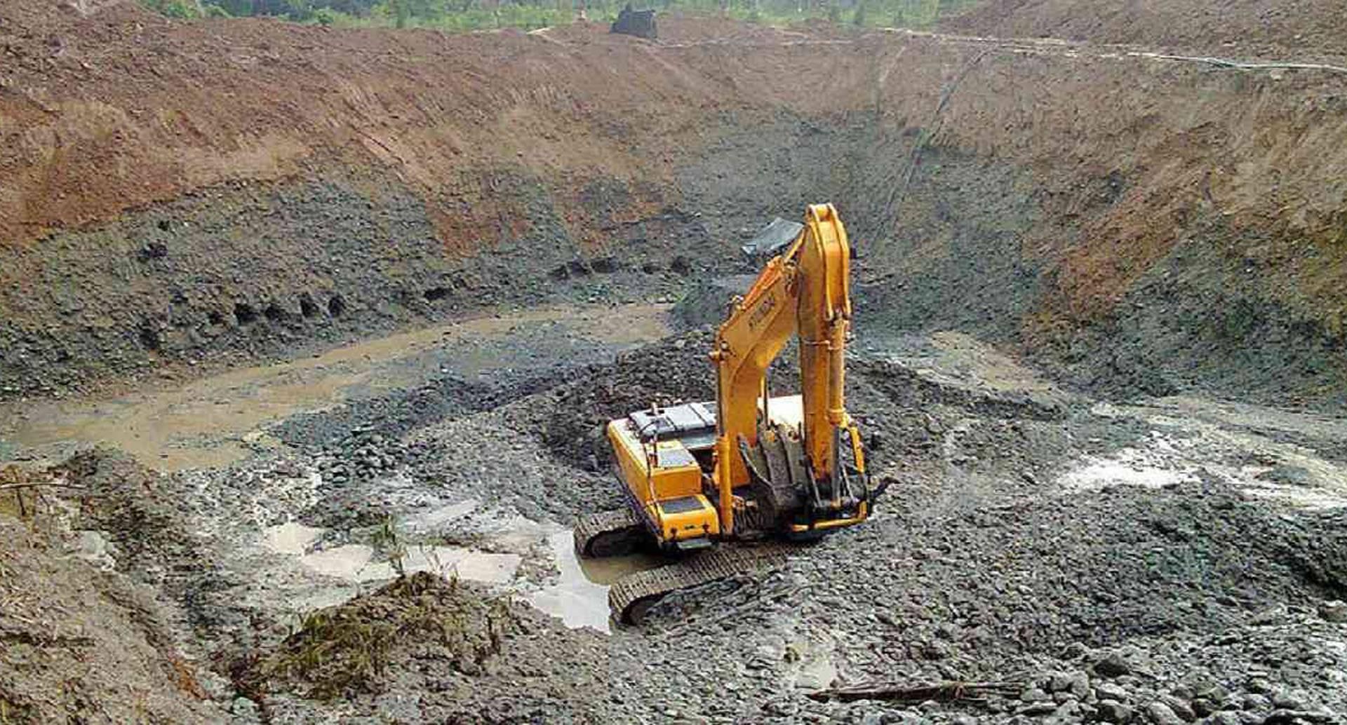 La minería a gran escala genera graves impactos en los suelos, lo que hace casi imposible su recuperación. Foto: Unimedios