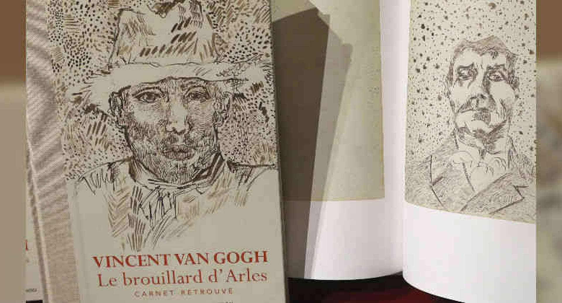 El dibujo de este libro se le atribuye a Van Gogh, pero ahora se duda de su autenticidad.