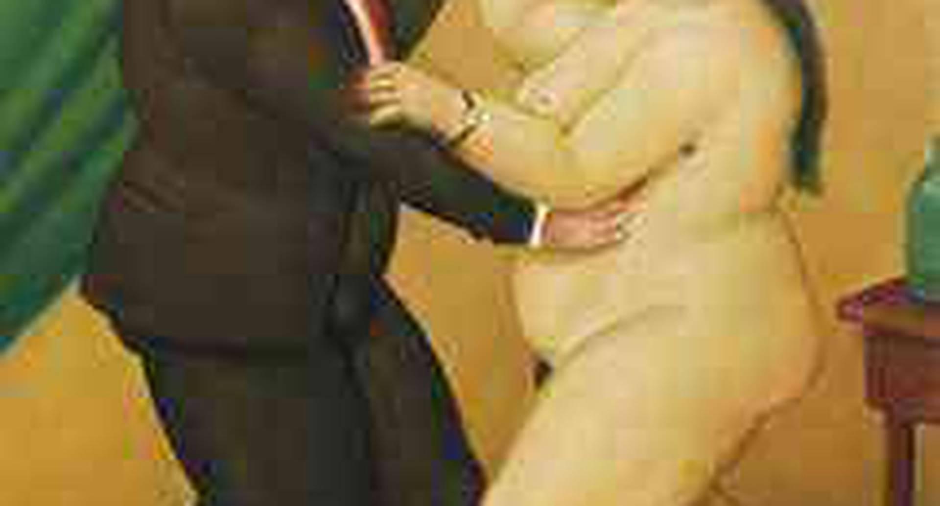 'Bailarines' de Fernando Botero (2003). Vendida por 343.500 dólares.