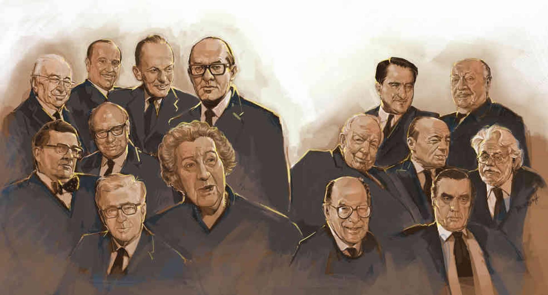 Quiénes fueron los protagonistas políticos del siglo XX.