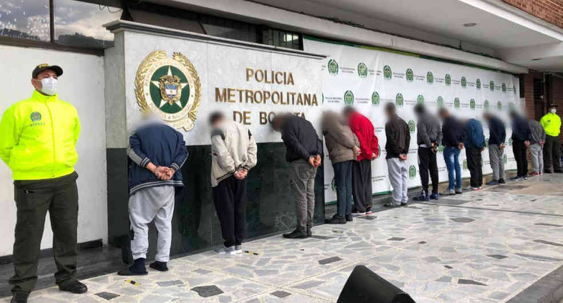 Caen 12 presuntos responsables de abusos sexuales contra menores en Bogotá