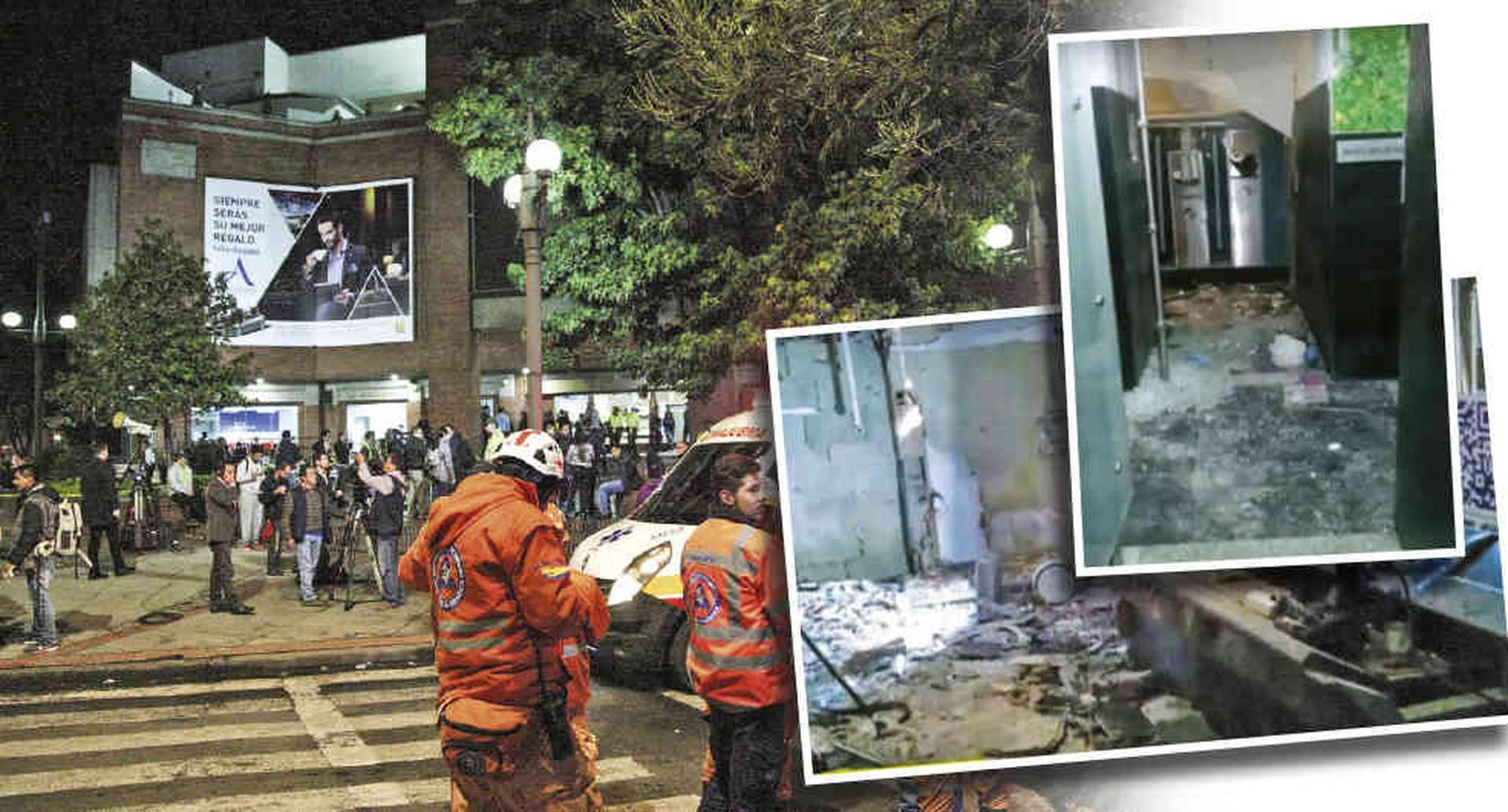 Hace tres años estalló una bomba en un baño del centro comercial Andino, en el norte de Bogotá. El ataque causó la muerte de tres mujeres y dejó nueve heridos.