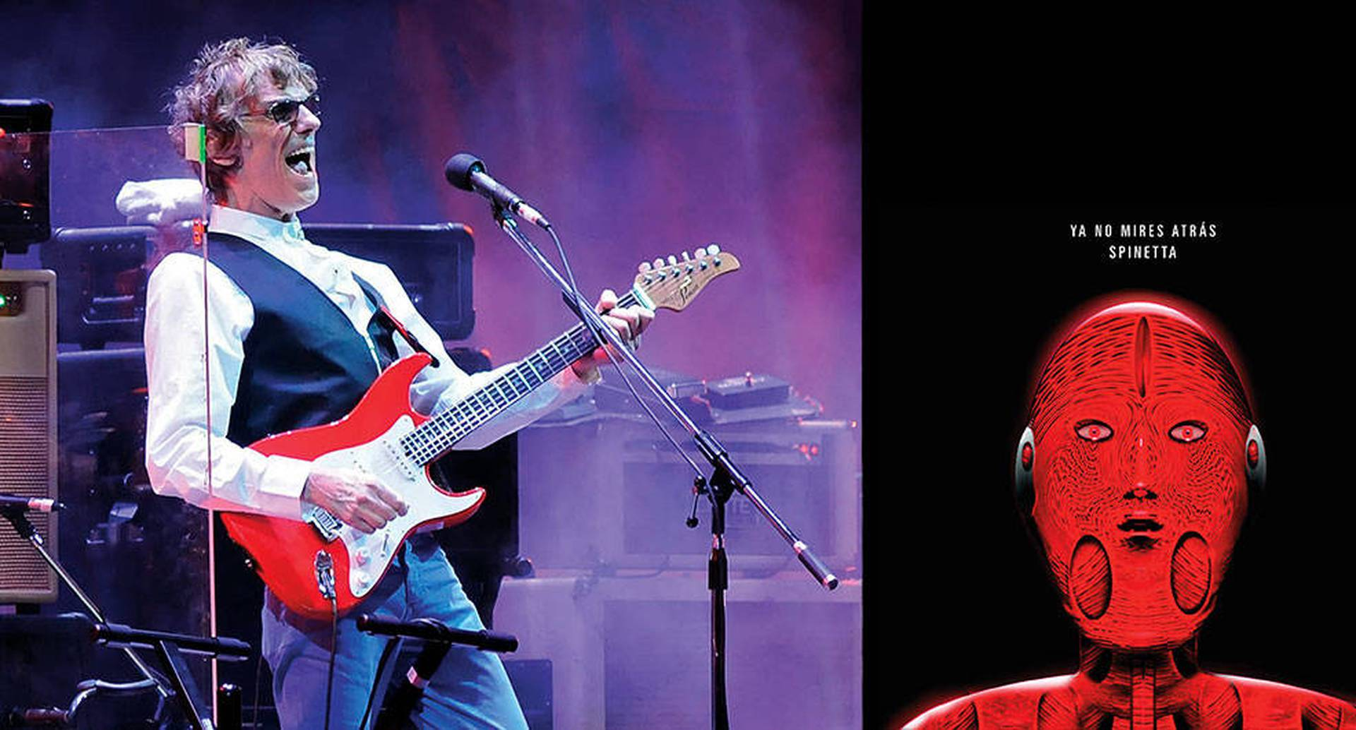 En el año en que hubiera cumplido 70, la exploración constante de Luis Alberto Spinetta se manifiesta, una vez más, en su trabajo póstumo Ya no mires atrás. Consta de siete canciones en las que su guitarra está más bien ausente. Nadie sabrá si así las quería Spinetta.