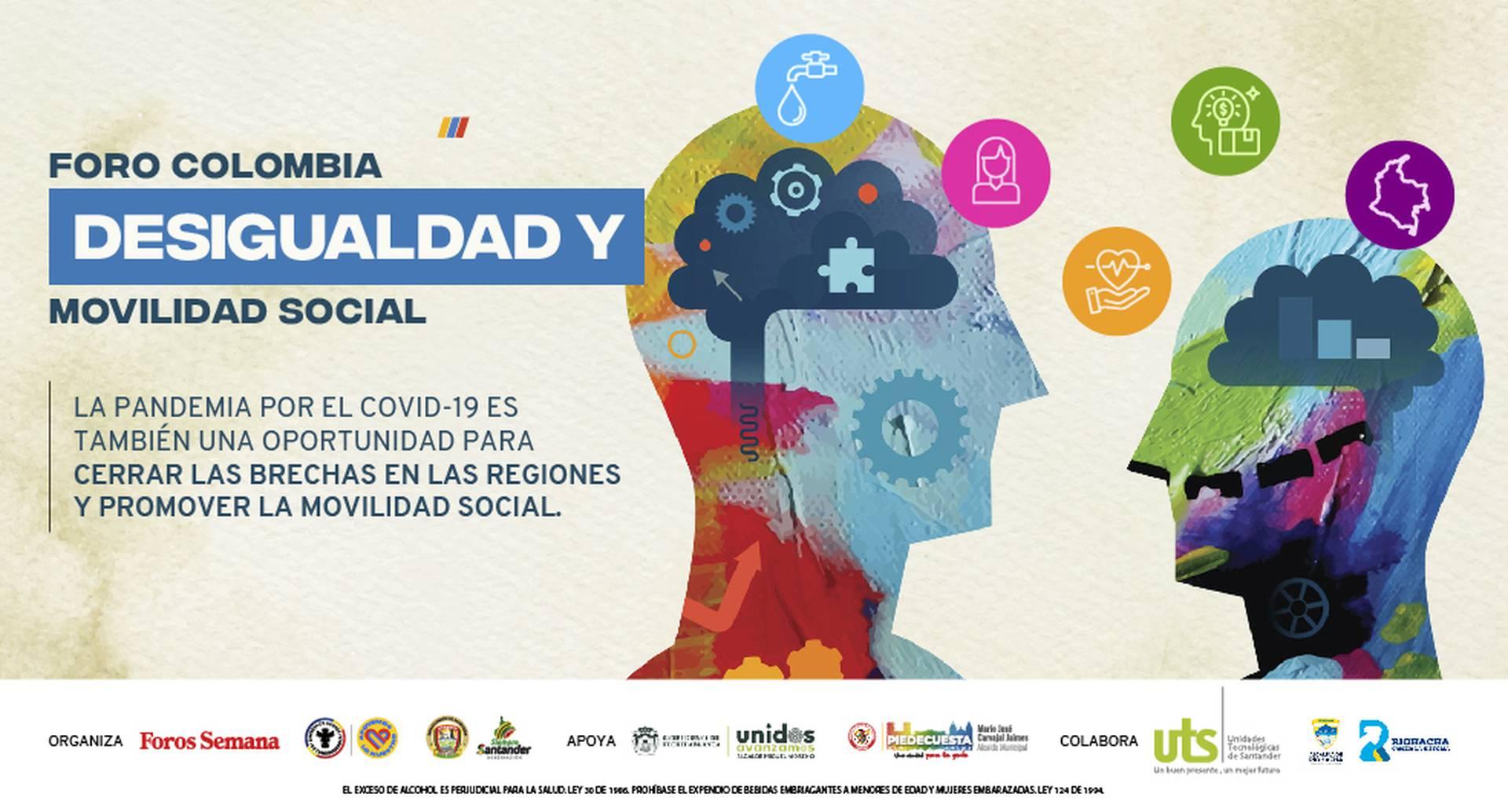 Conéctese con el Foro Colombia desigualdad y movilidad social
