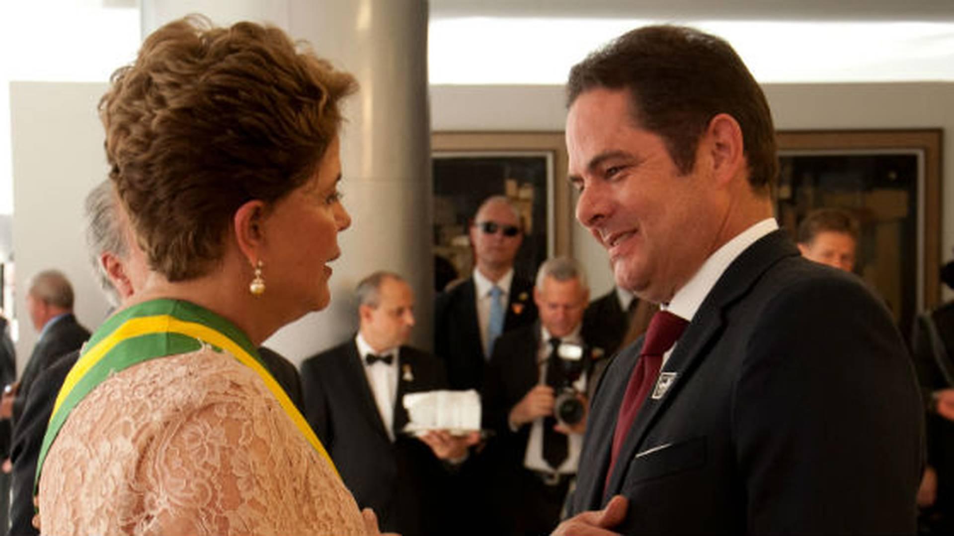 Dilma Rousseff y Germán Vargas Lleras conversaron por unos minutos.
