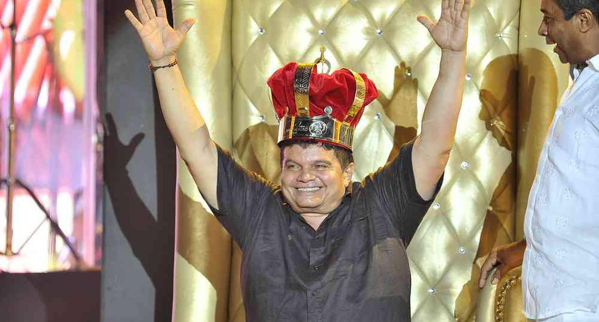 Álvaro López Carrillo, Rey de reyes 2017, celebra su triunfo  la madrugada del lunes 1 de mayo de 2017de 2017, en el parque de la Leyenda Vallenata, Consuelo Araujo Noguera, durante la final del 50 Festival Vallenato y IV Rey de reyes, en Valledupar, Colombia. Foto: Carlos Julio Martínez / SEMANA