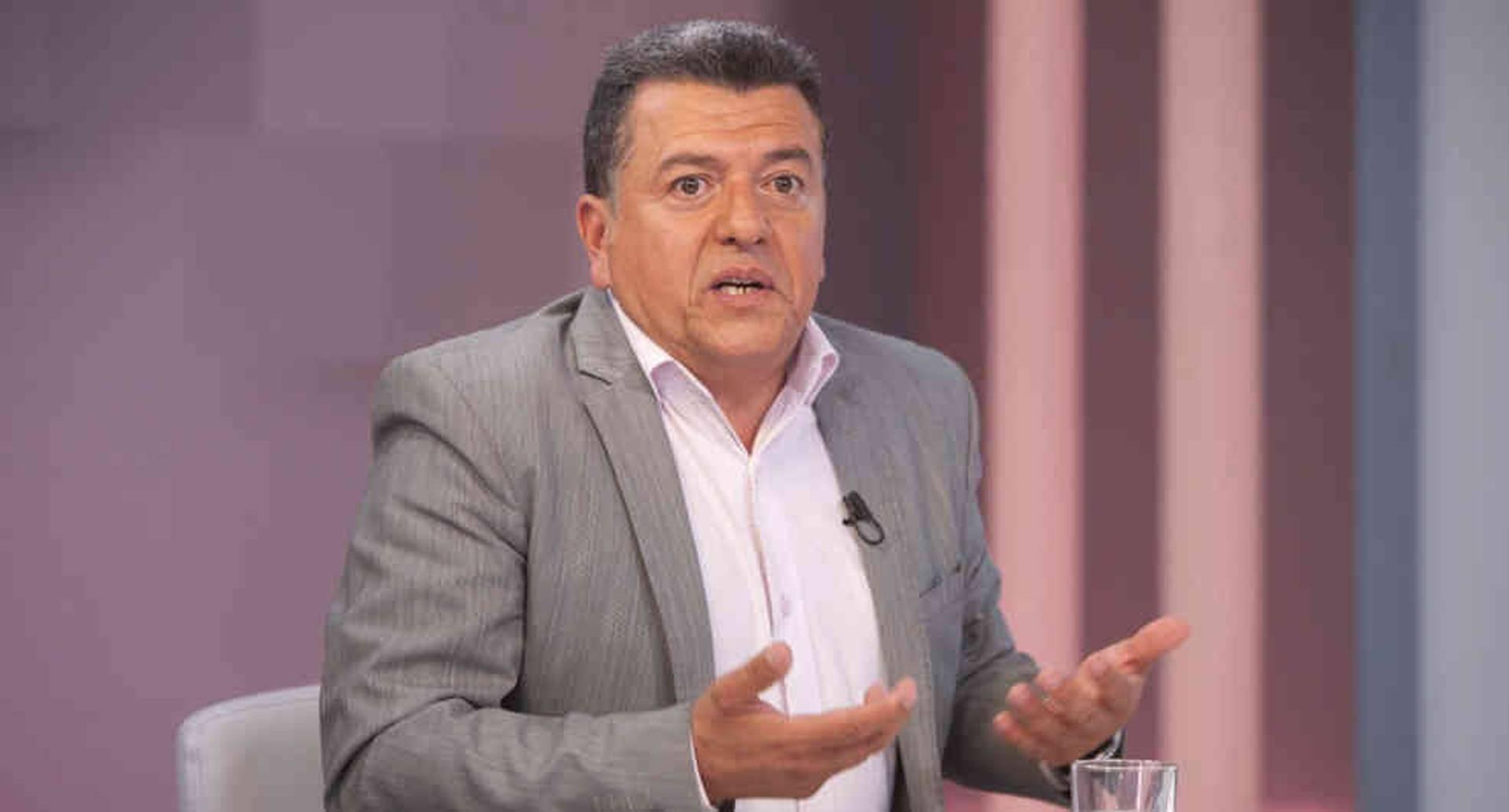 Hugo Ospina, vocero de los taxistas en Colombia