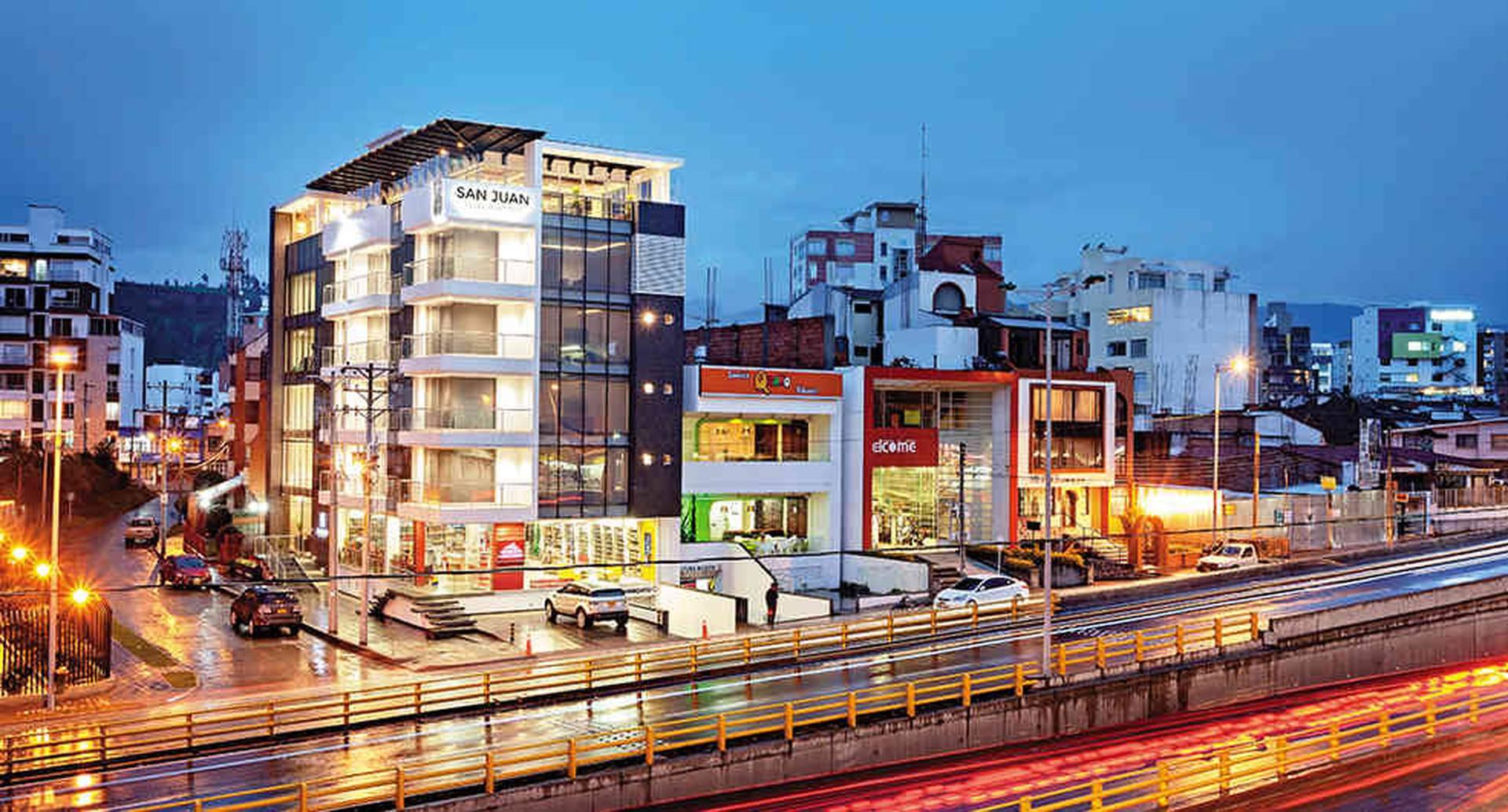 El nombre del hotel es un homenaje al nombre de la ciudad San Juan de Pasto.