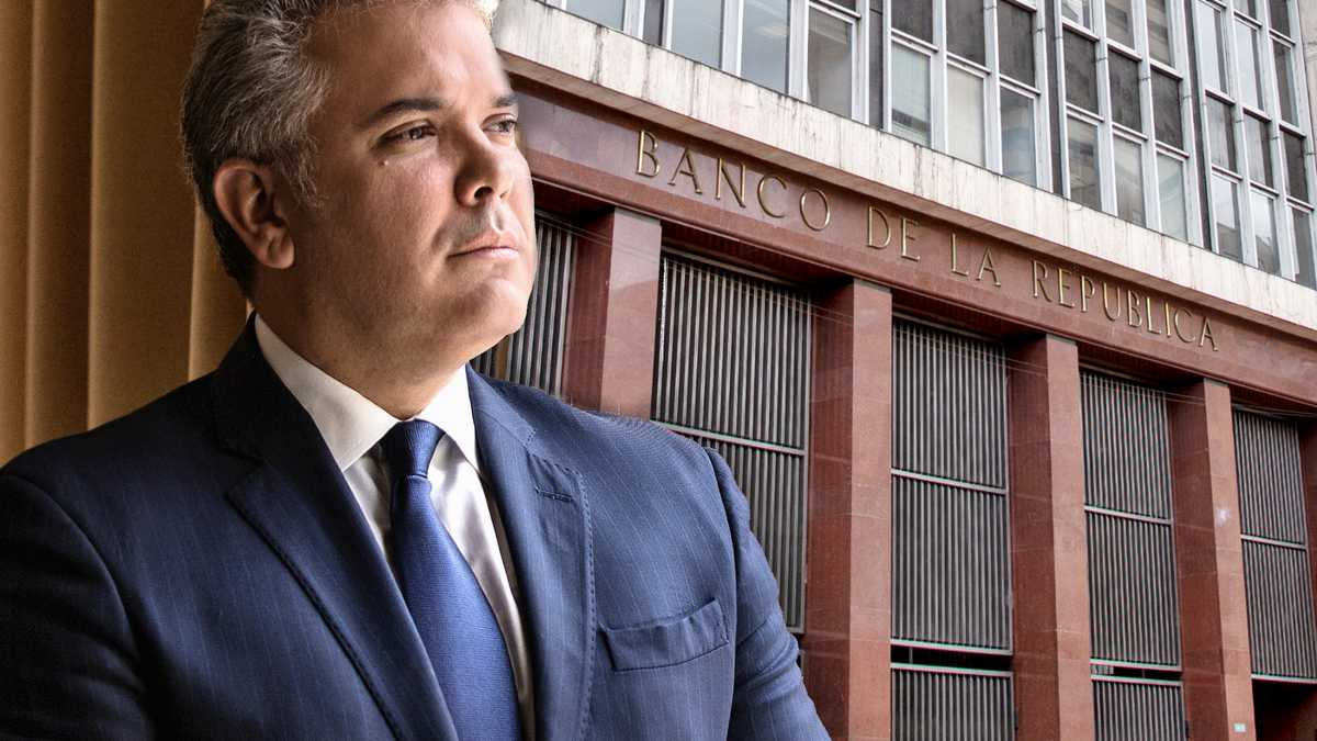 Ivan Duque + Banco de la Republica