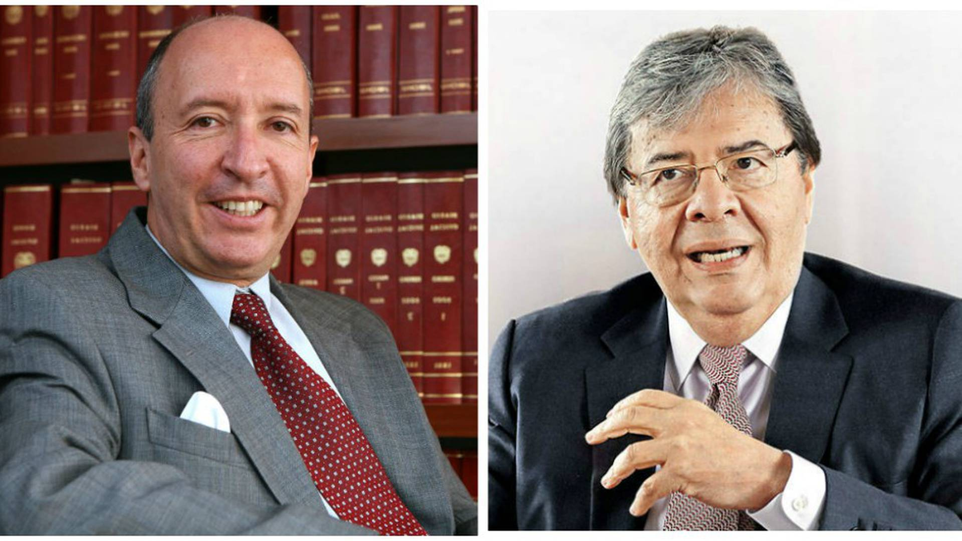 Juan Manuel Charry, constitucionalista; Carlos Holmes Trujillo, mindefensa.