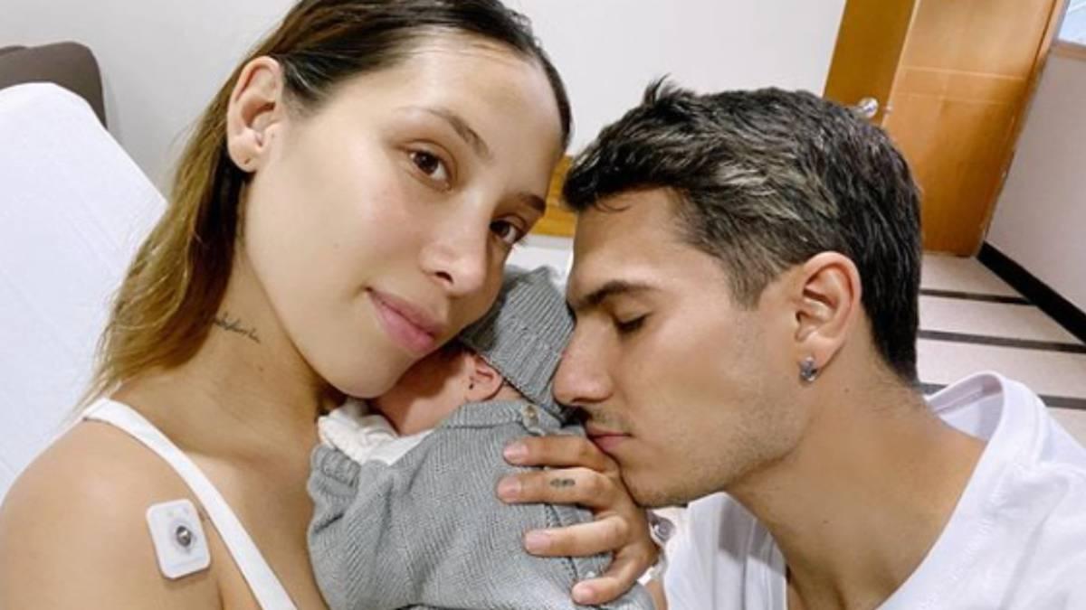¡YA NACIÓ! Massimo el hijo de Luisa Fernanda W y Pipe Bueno