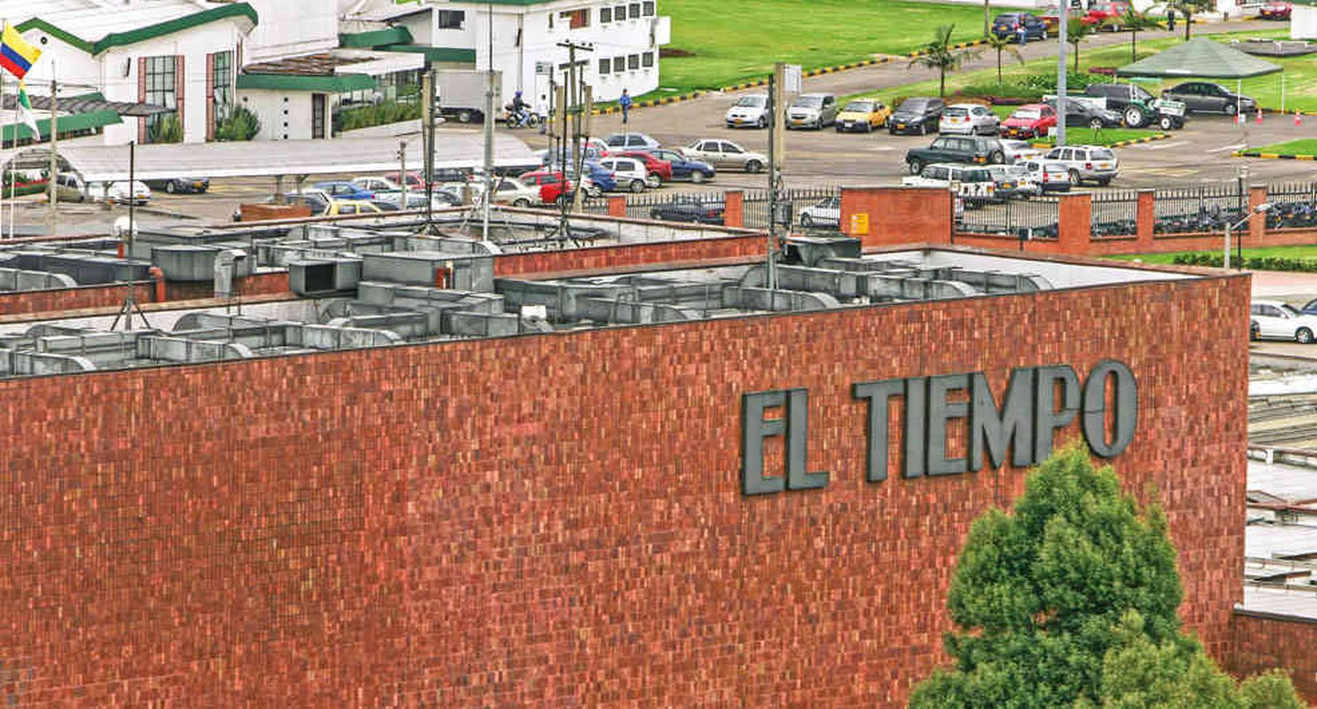 Instalaciones del periódico El Tiempo en Bogotá.