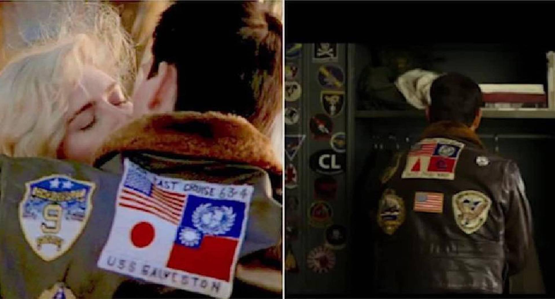 Así fue la censura para quitar una bandera taiwanesa de la chaqueta de Tom Cruise en Top Gun: Maverick.