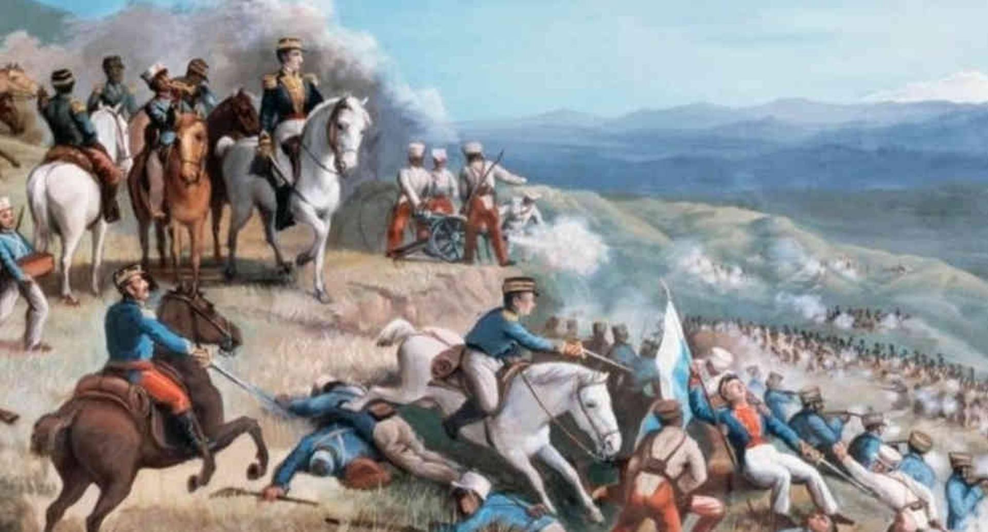 Las tropas de Bolívar y las milicias realistas del pastuso Agustín Agualongo no solo se enfrentaron en Pasto, también en territorios que después conformarían Ecuador.