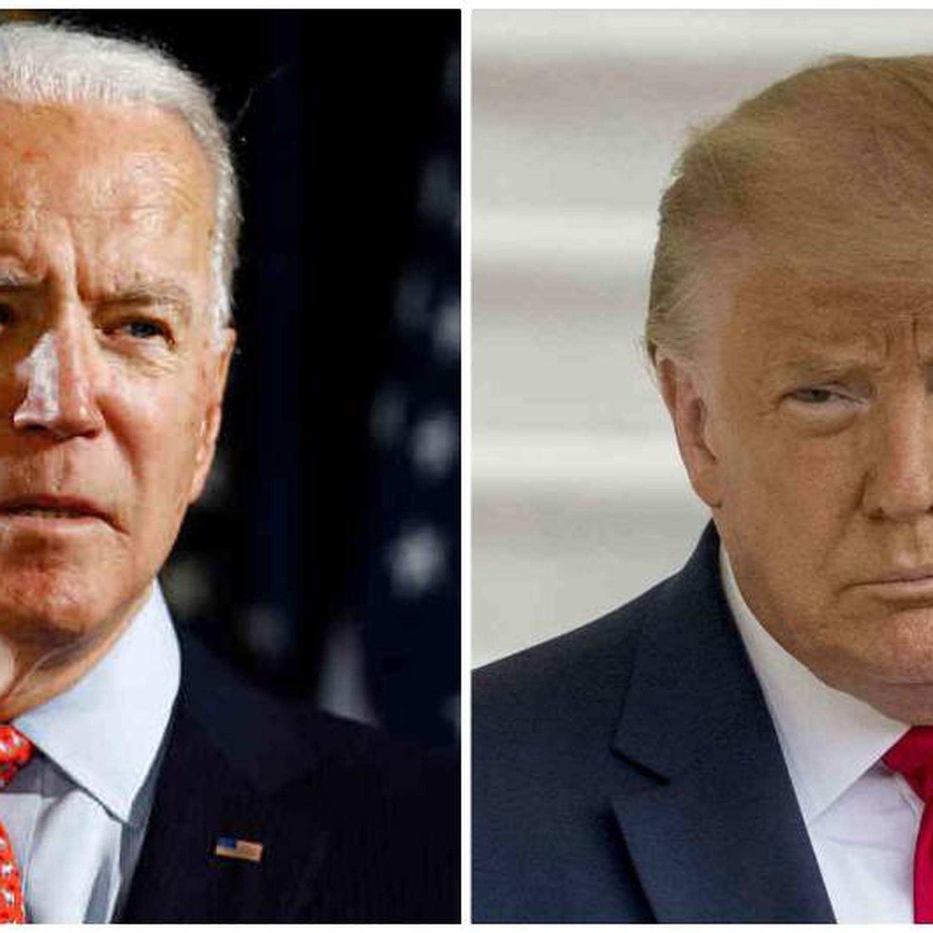 """Trump """"ha tratado de alimentar el racismo y destrozar a nuestra nación"""", dijo un portavoz de Biden."""