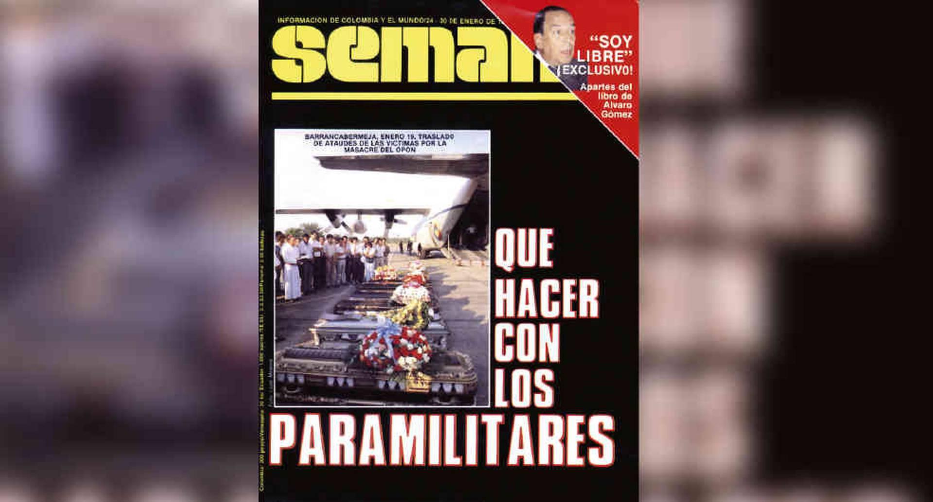 EDICIÓN 351 (enero 1989) Los paramilitares avanzan a pasos agigantados.