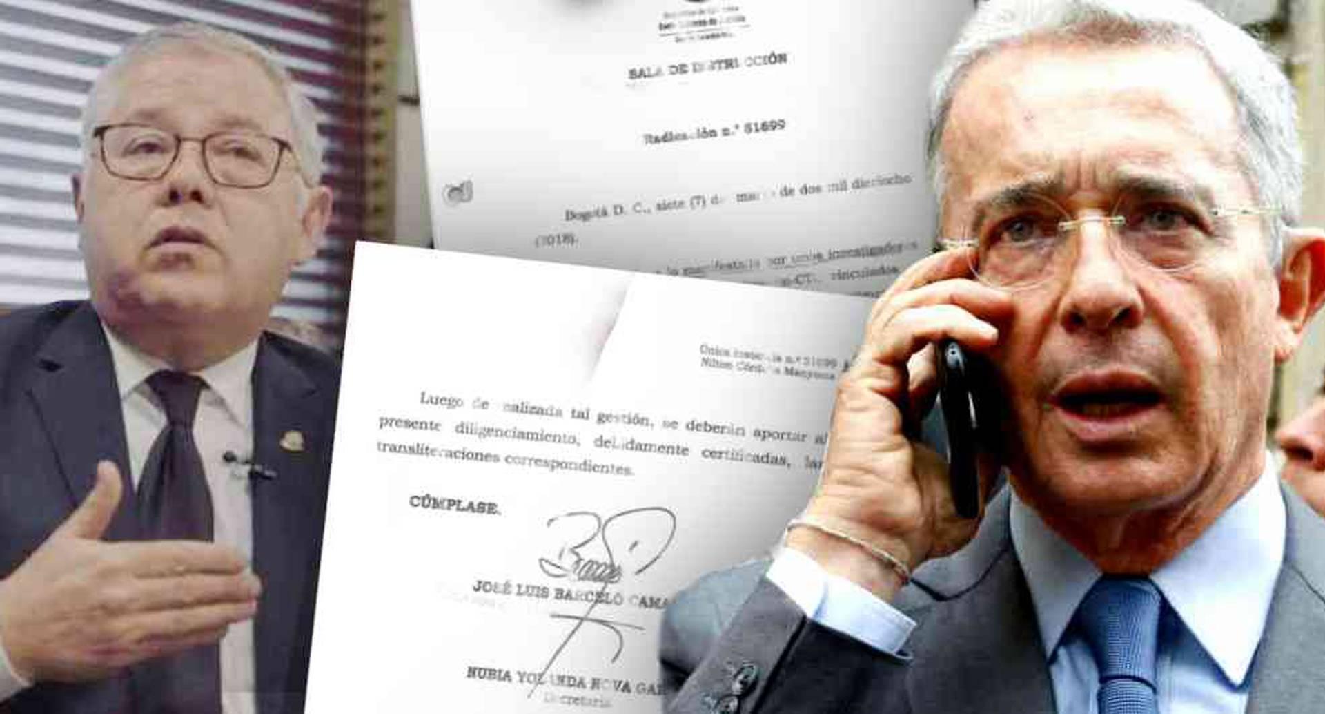 """En el auto, el magistrado Barceló le pide a la Dirección Nacional del Cuerpo Técnico de Investigaciones de la Fiscalía que """"rastree y registre"""" todas las comunicaciones que se realicen por 90 días desde dos números celulares, a partir de ese día, el 7 de marzo de 2018."""