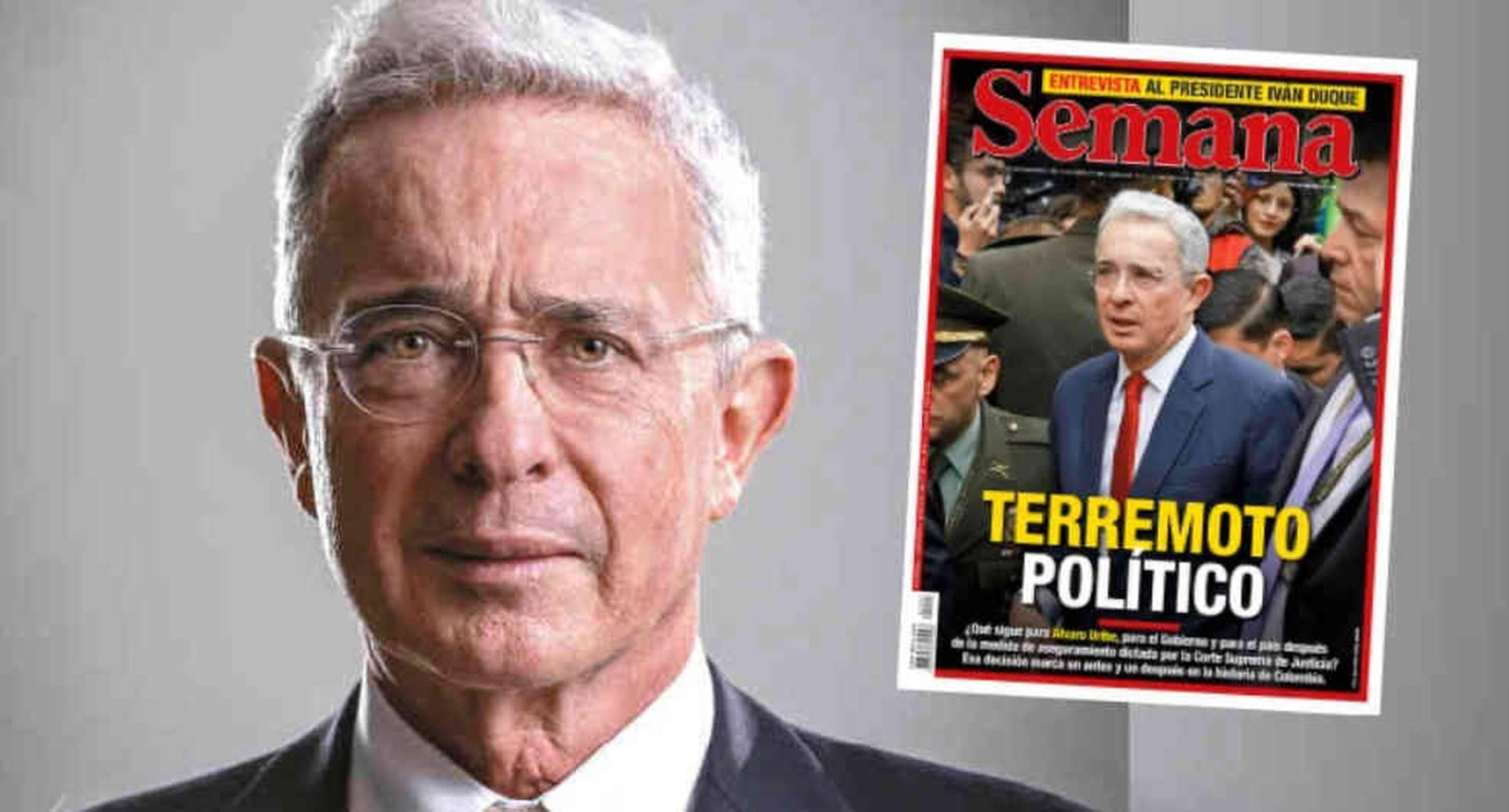 Álvaro Uribe enfrenta medida de aseguramiento y sacude política en Colombia