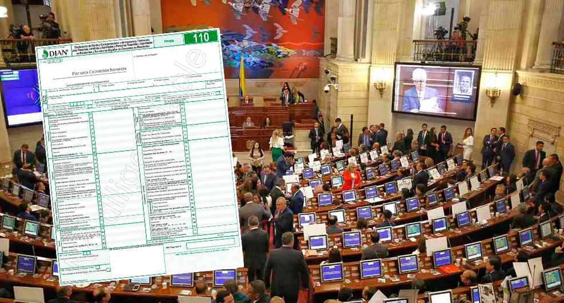 Los congresistas, por ejemplo, deberán publicar datos como los ingresos y rentas que obtuvieron en el último año gravable, especificando solamente concepto y valor.